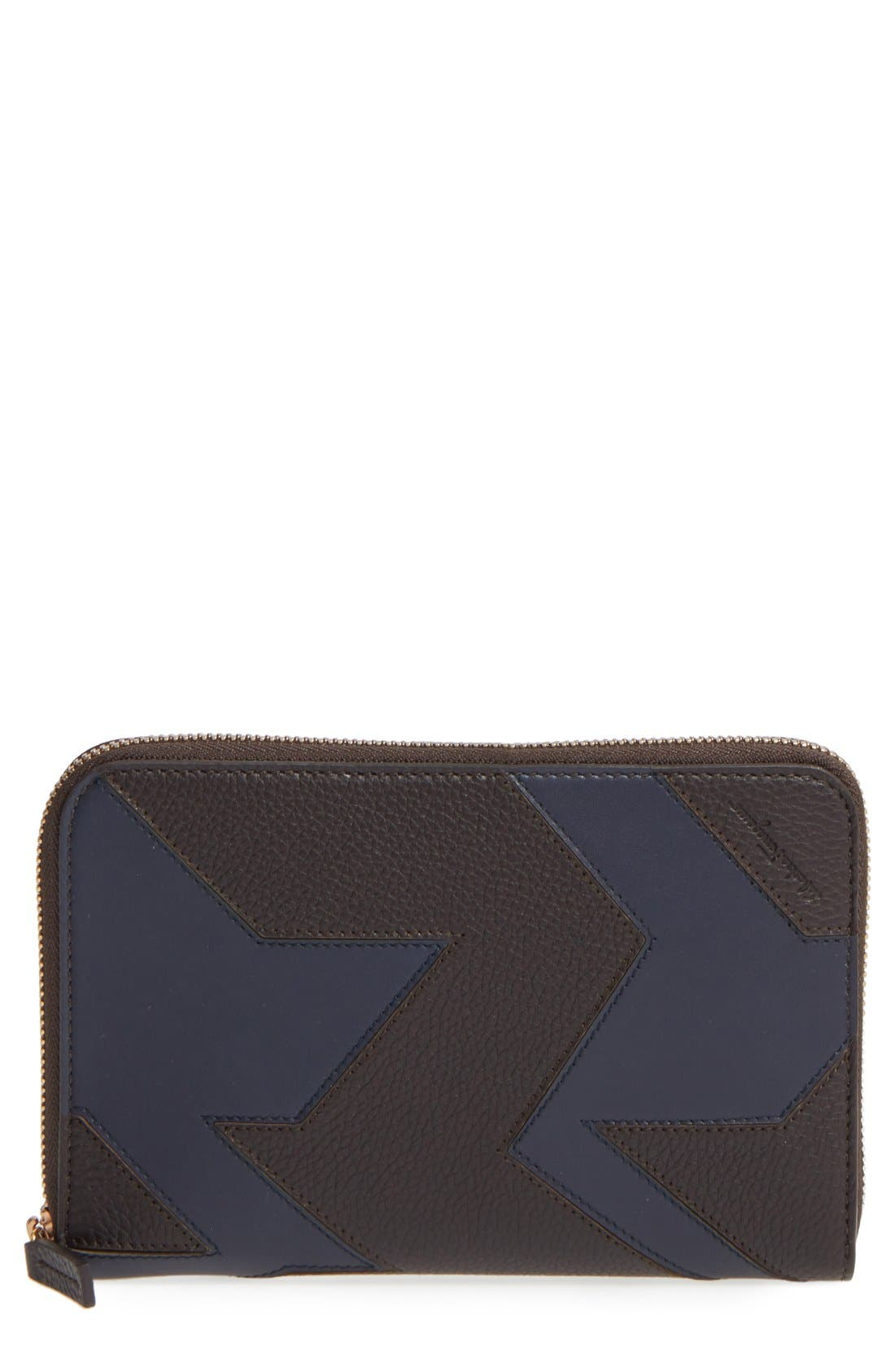 Main Image - Salvatore Ferragamo Zip Wallet