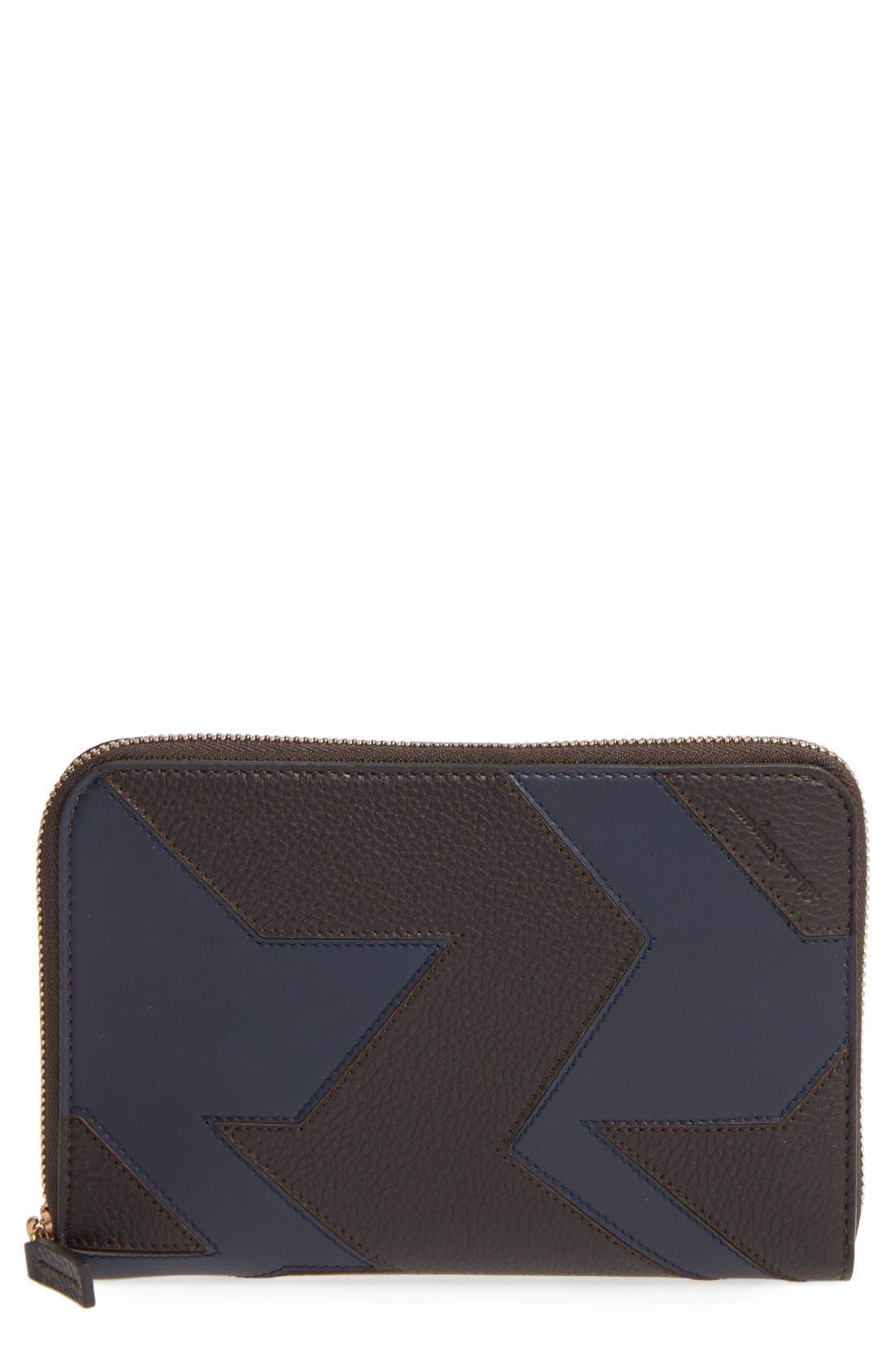 Zip Wallet,                         Main,                         color, Fondente/ Navy