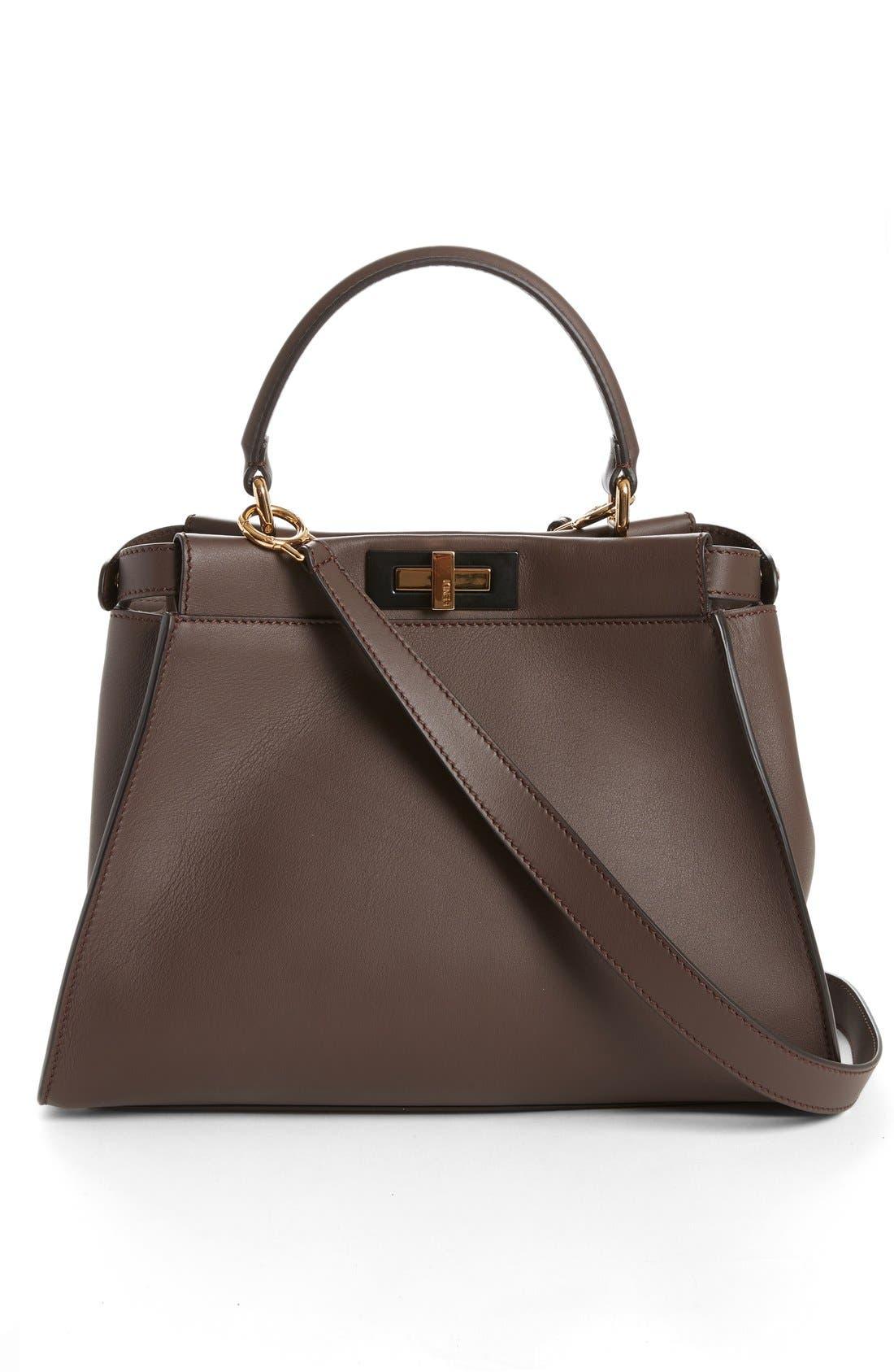 Alternate Image 3  - Fendi 'Peek-A-Boo' Medium Crossbody Bag