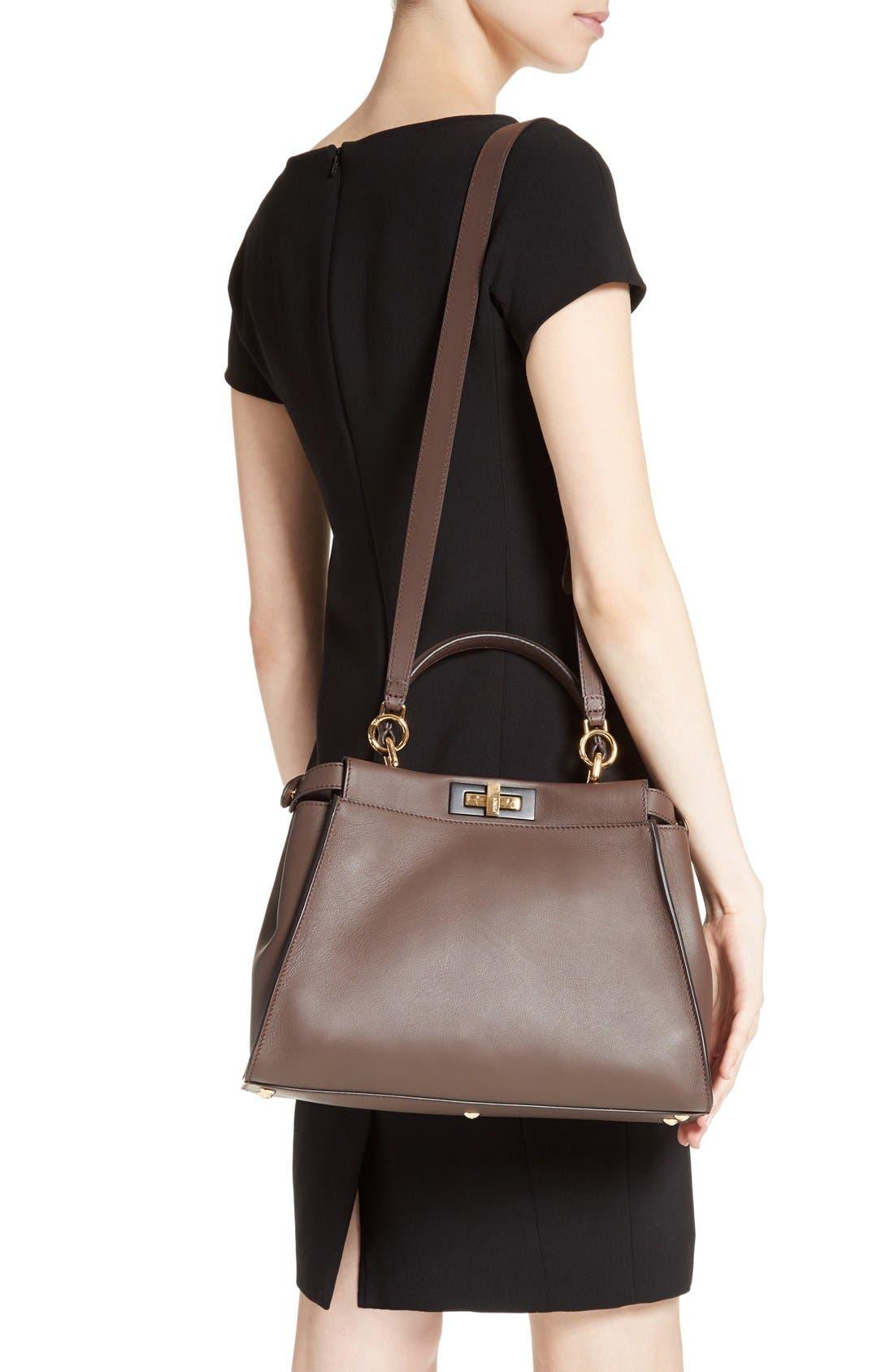 Alternate Image 2  - Fendi 'Peek-A-Boo' Medium Crossbody Bag