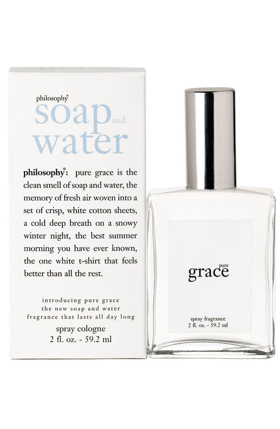 'pure grace' spray fragrance,                             Alternate thumbnail 2, color,