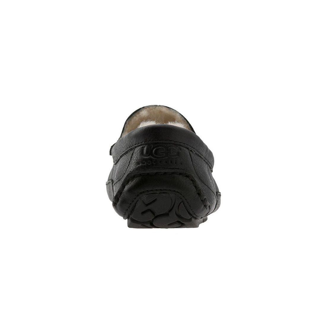 Alternate Image 4  - UGG® Ascot Leather Slipper (Men)