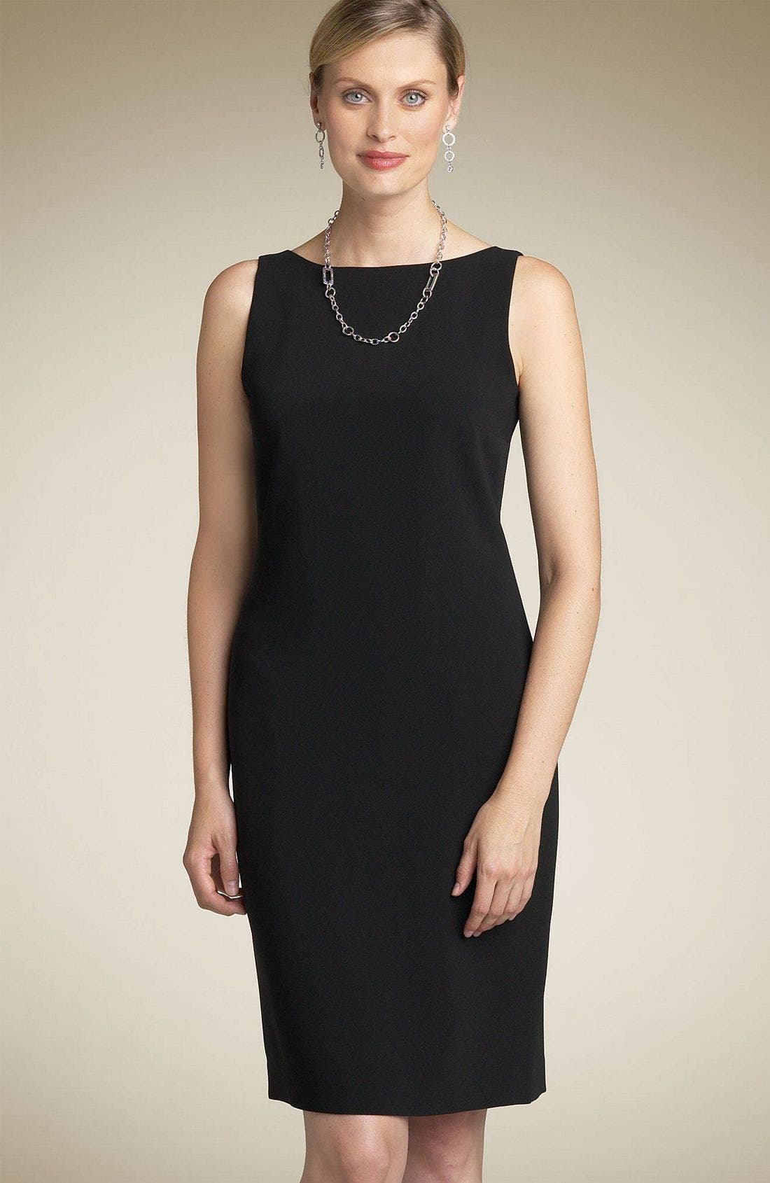 Alternate Image 1 Selected - Louben Sheath Dress (Petite)