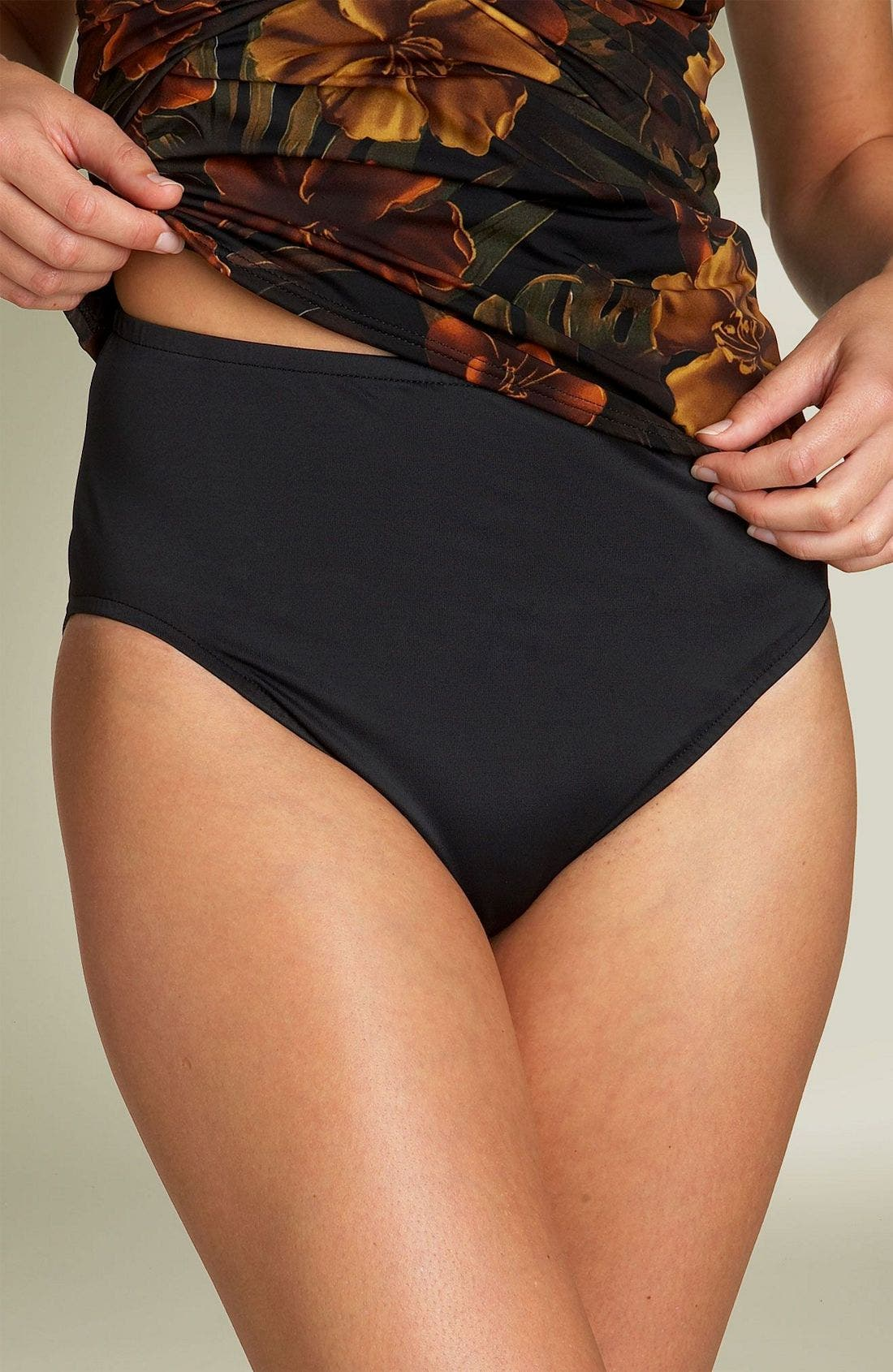 Alternate Image 1 Selected - Miraclesuit® High Waist Bottoms