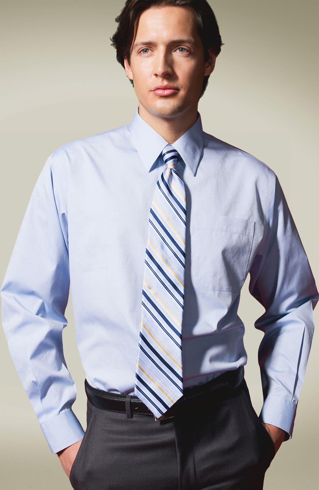 Alternate Image 3  - Nordstrom Smartcare™ Classic Fit Pinpoint Dress Shirt