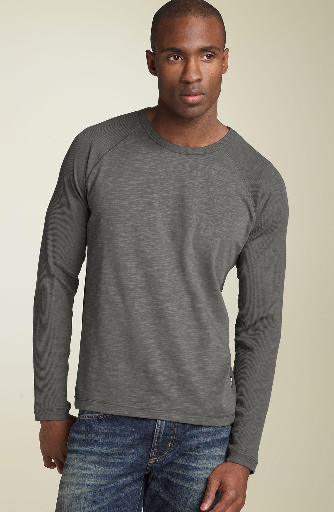 Alternate Image 1 Selected - BOSS Black 'Sassari' Regular Fit Crewneck T-Shirt