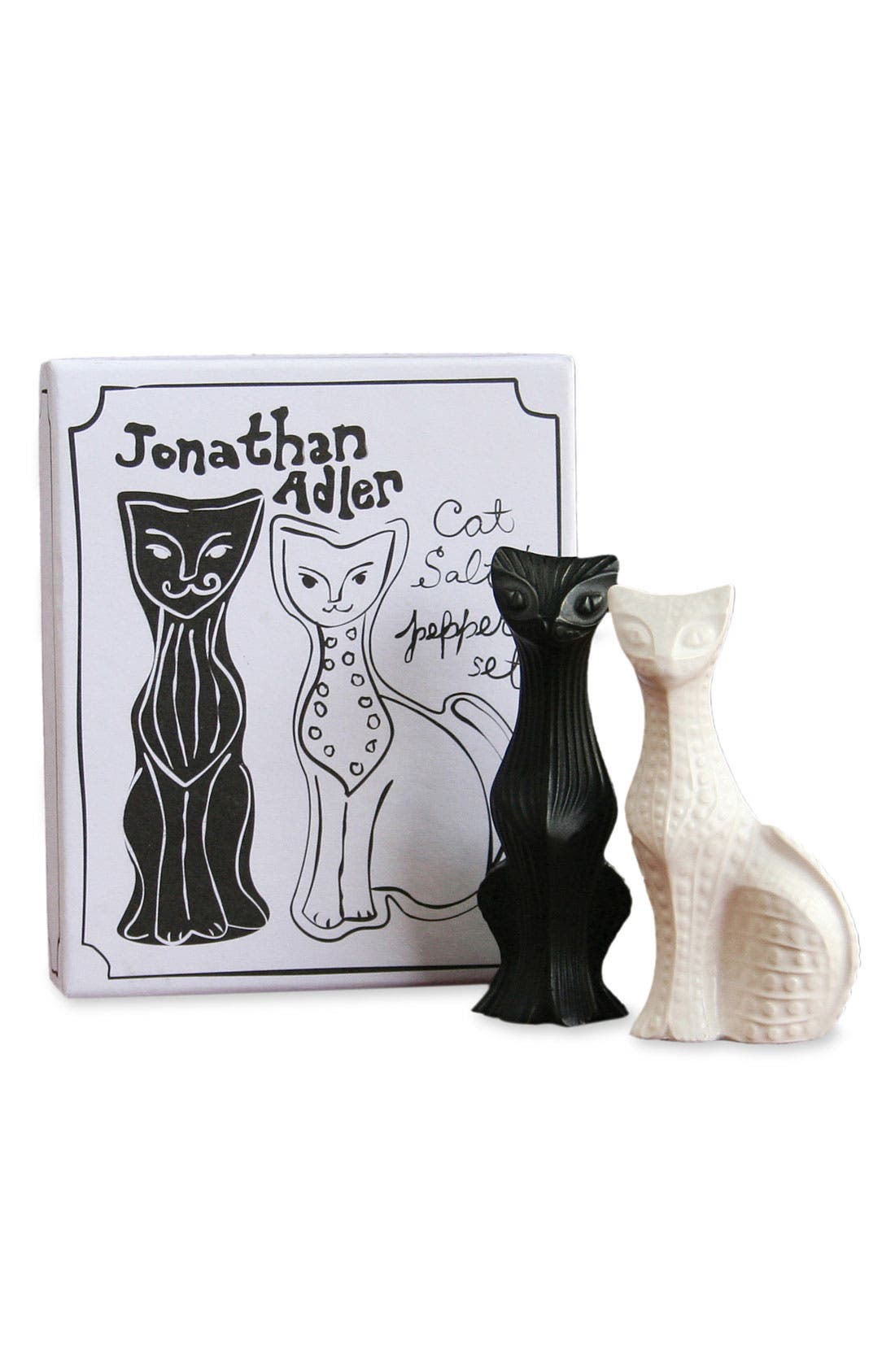 Alternate Image 1 Selected - Jonathan Adler Cat Salt & Pepper Shakers