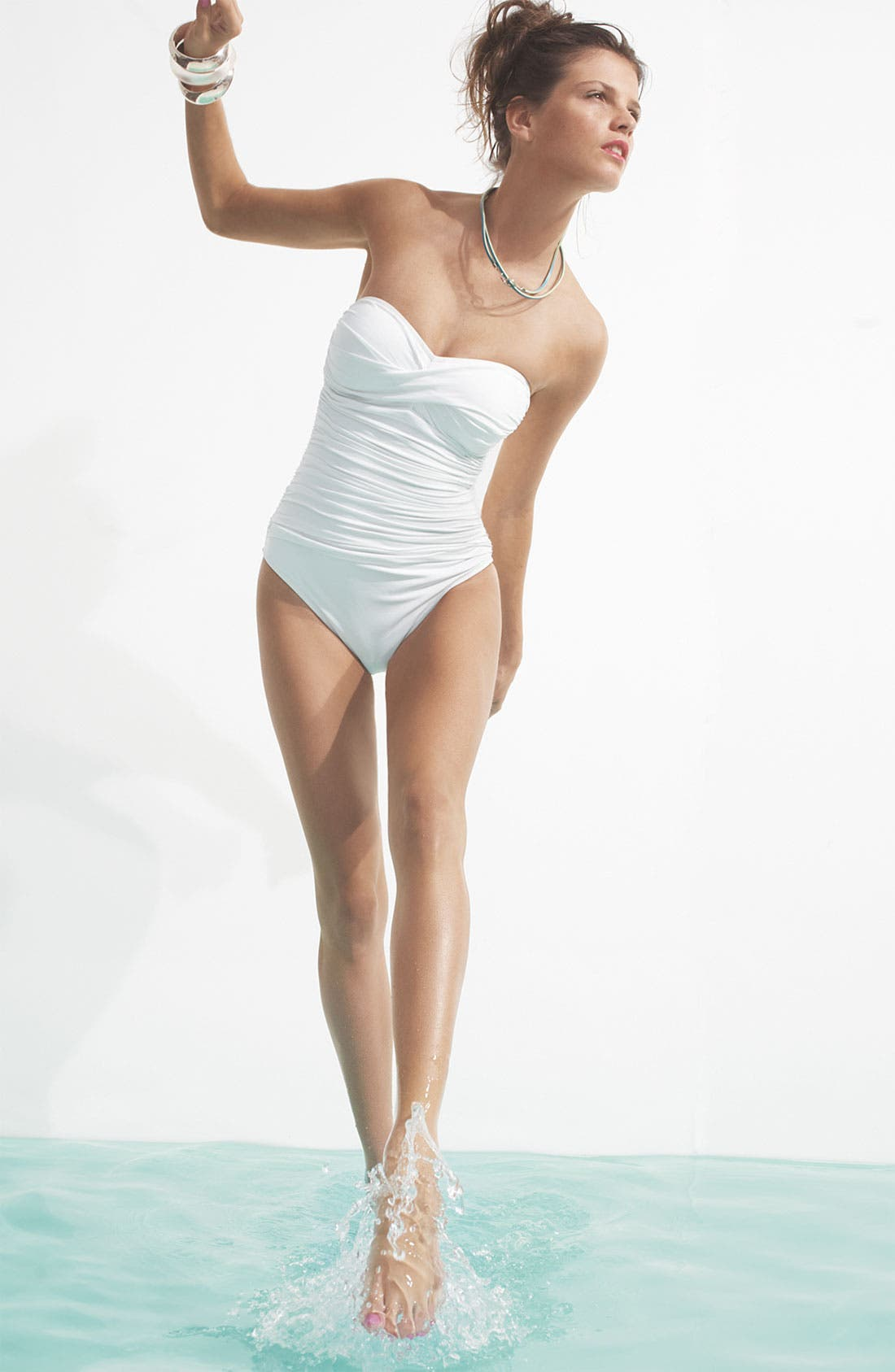 Alternate Image 2  - La Blanca One Piece Bandeau Swimsuit