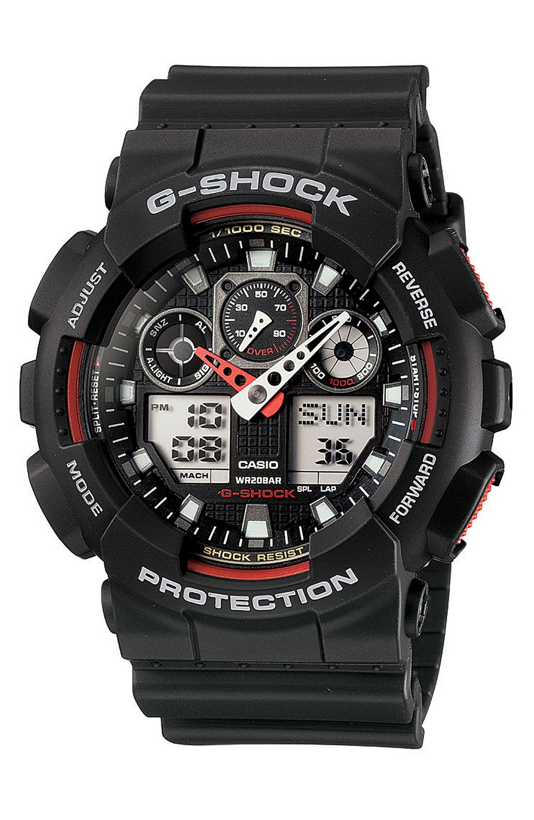 Main Image - G-Shock 'Big Combi' Watch, 55mm x 51mm