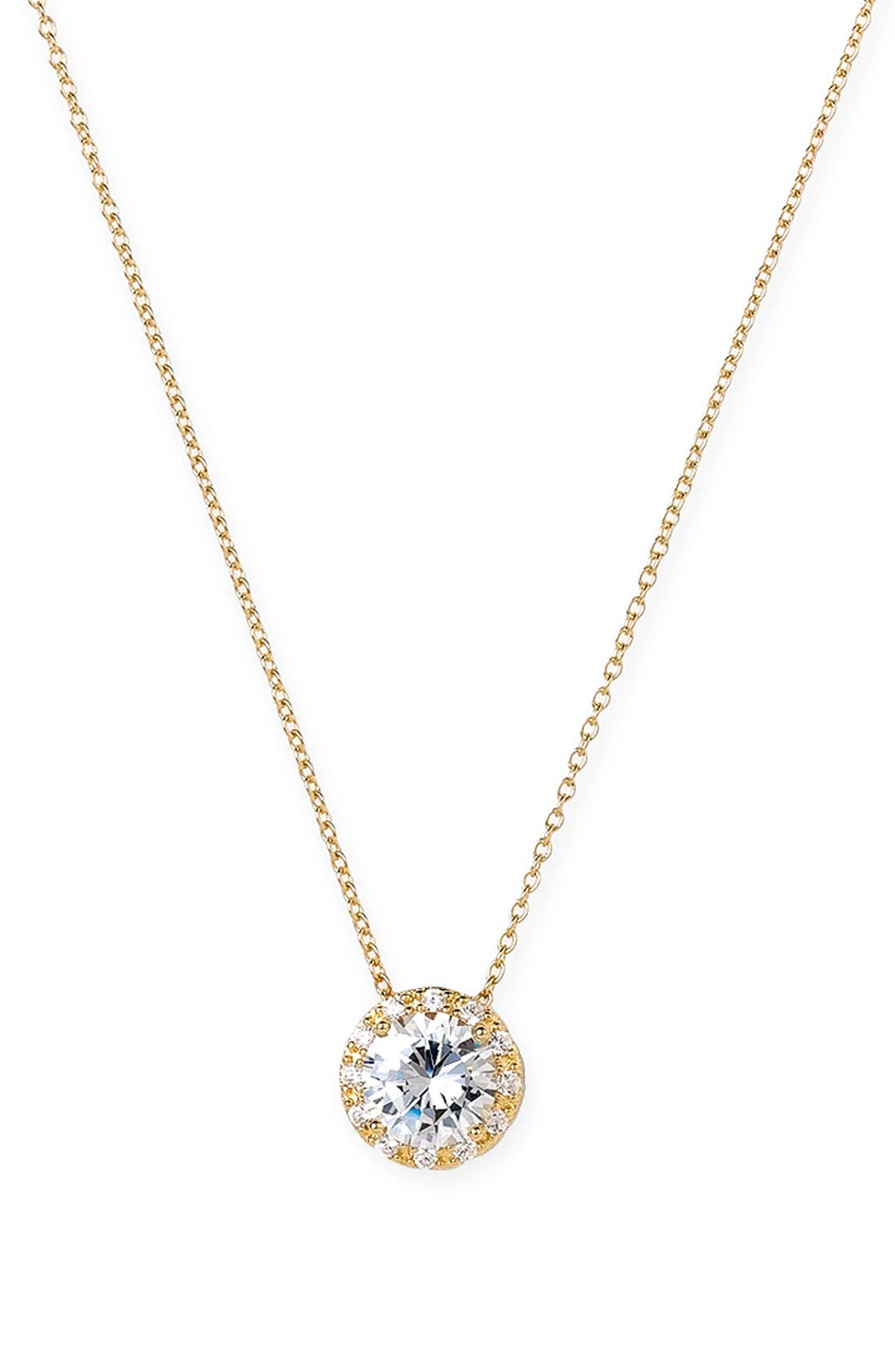 Main Image - Nordstrom Pavé Pendant Necklace