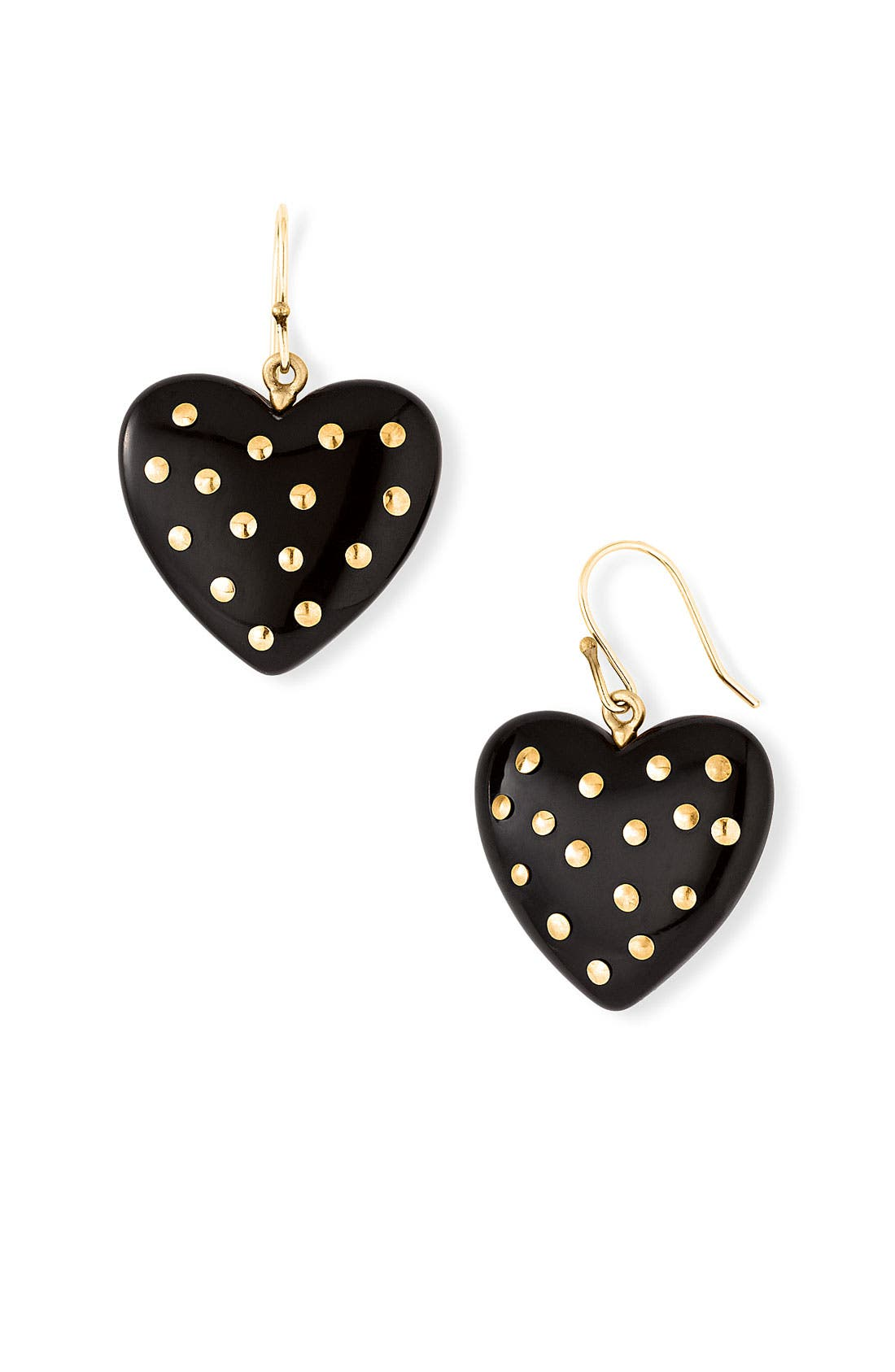 Alternate Image 1 Selected - MARC BY MARC JACOBS 'House of Cards' Studded Heart Earrings
