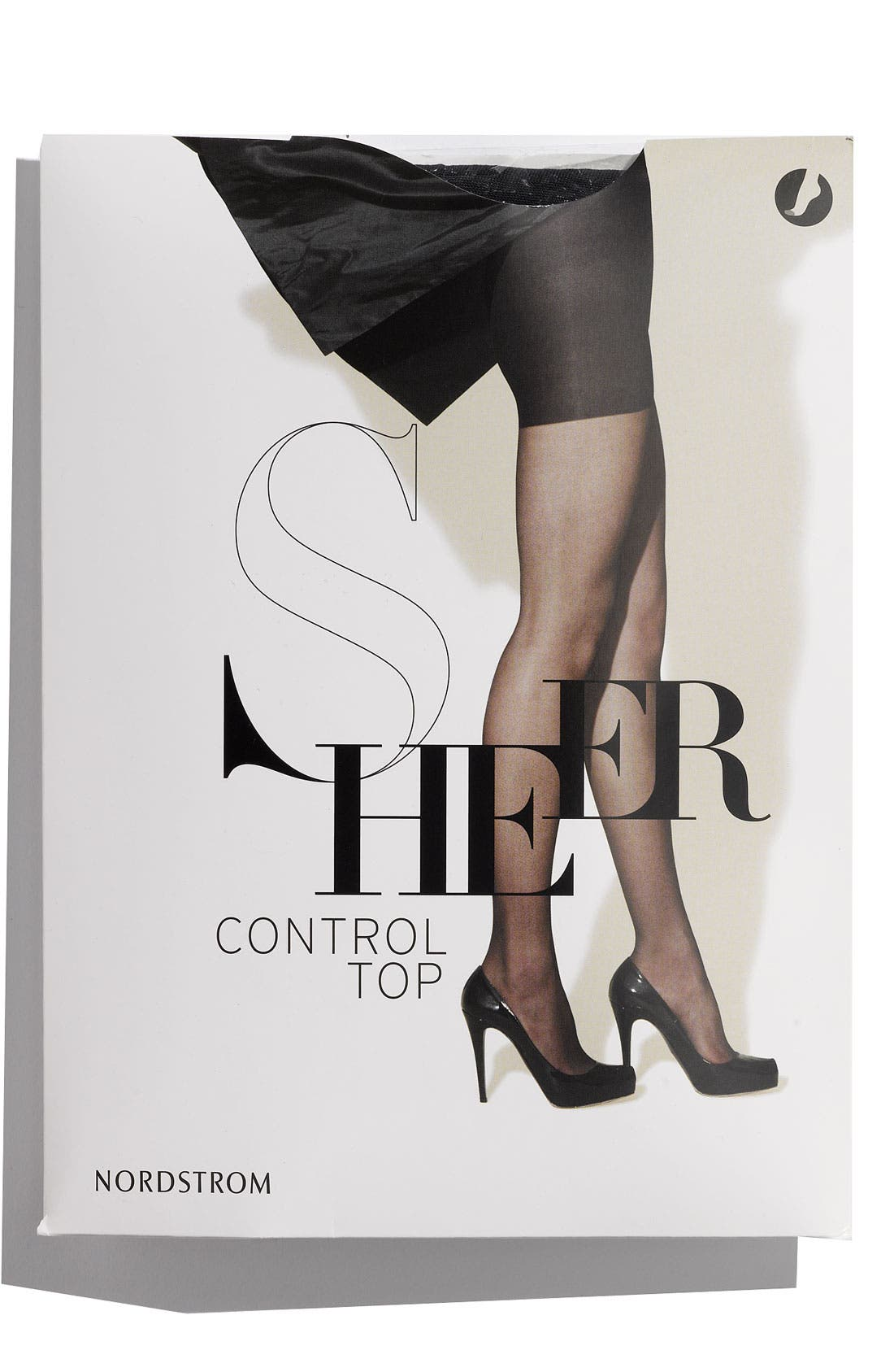 Alternate Image 1 Selected - Nordstrom Sheer Control Top Hosiery