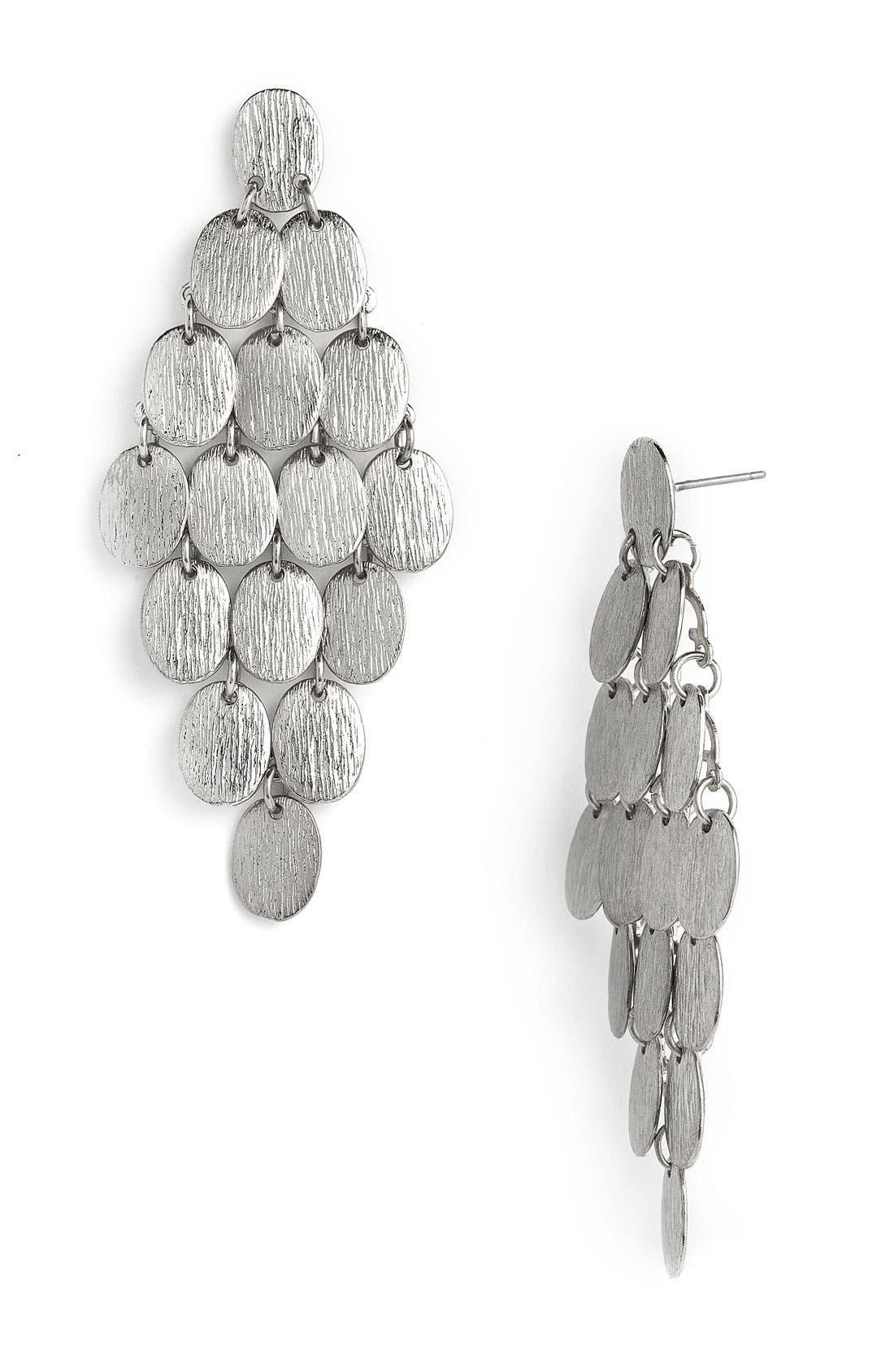 Alternate Image 1 Selected - Tasha Disc Chandelier Earrings