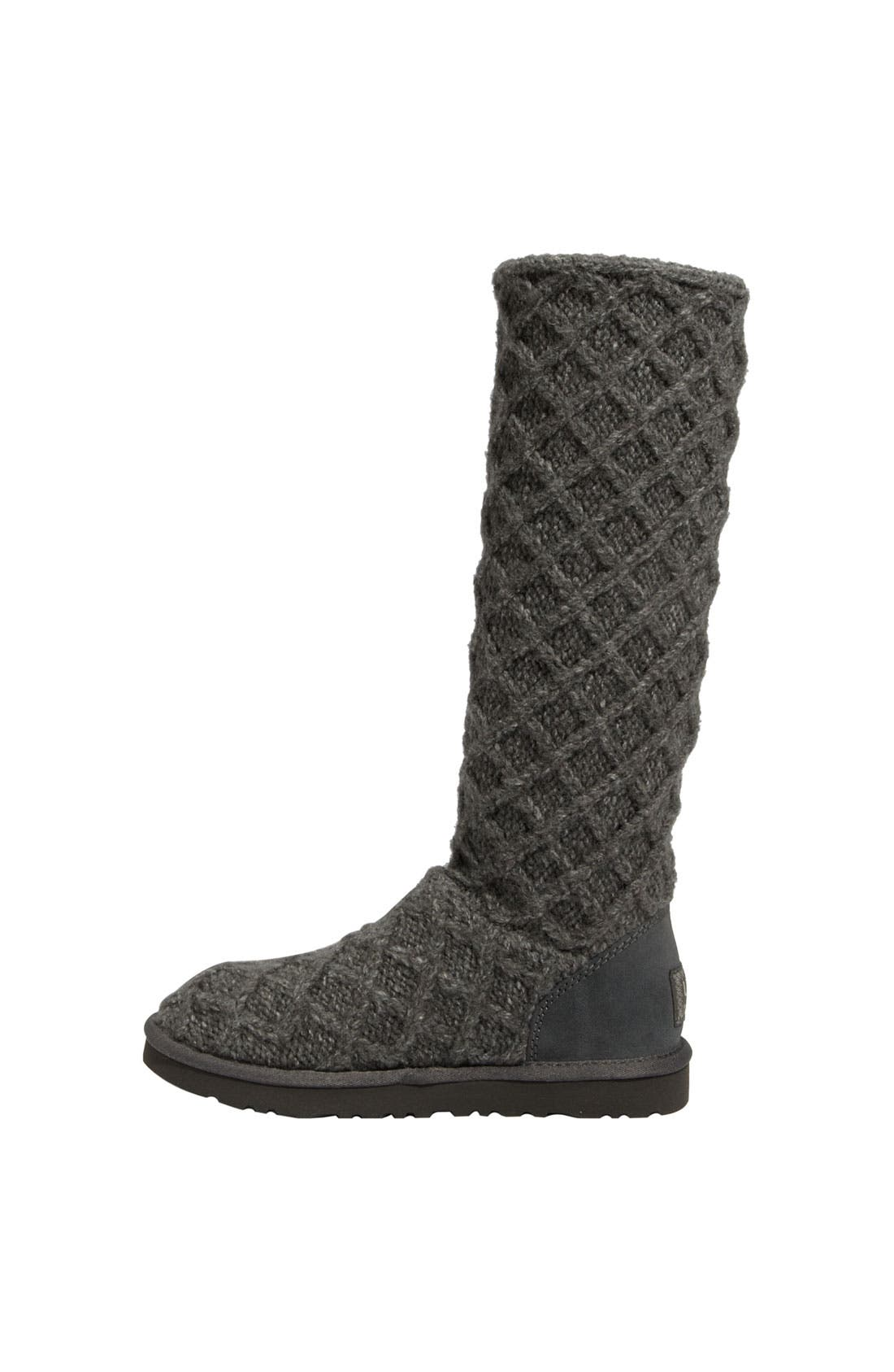 Alternate Image 2  - UGG® Australia 'Lattice Cardy' Boot (Women)