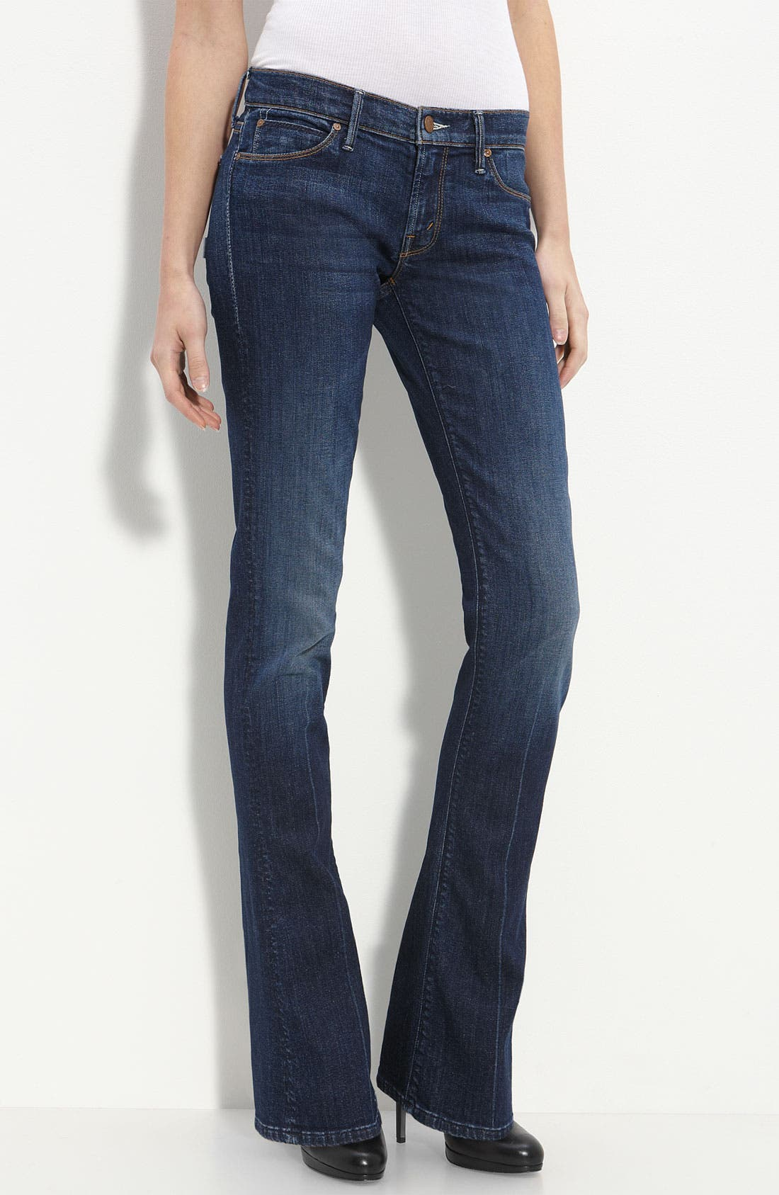 Alternate Image 2  - MOTHER 'The Runaway' Bootcut Stretch Jeans (Flowers from the Storm)