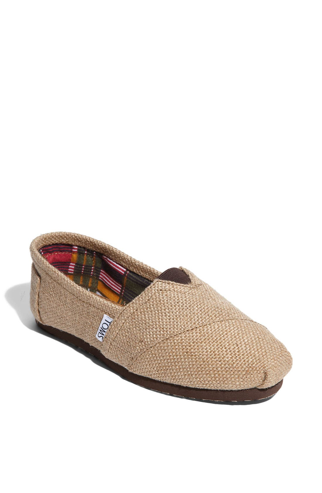 Alternate Image 1 Selected - TOMS Burlap Slip-On (Women)