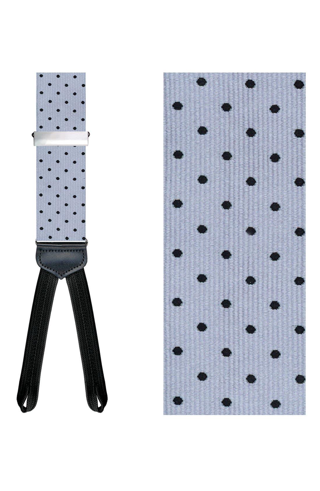 Alternate Image 1 Selected - Trafalgar 'Formal Concord' Silk Suspenders