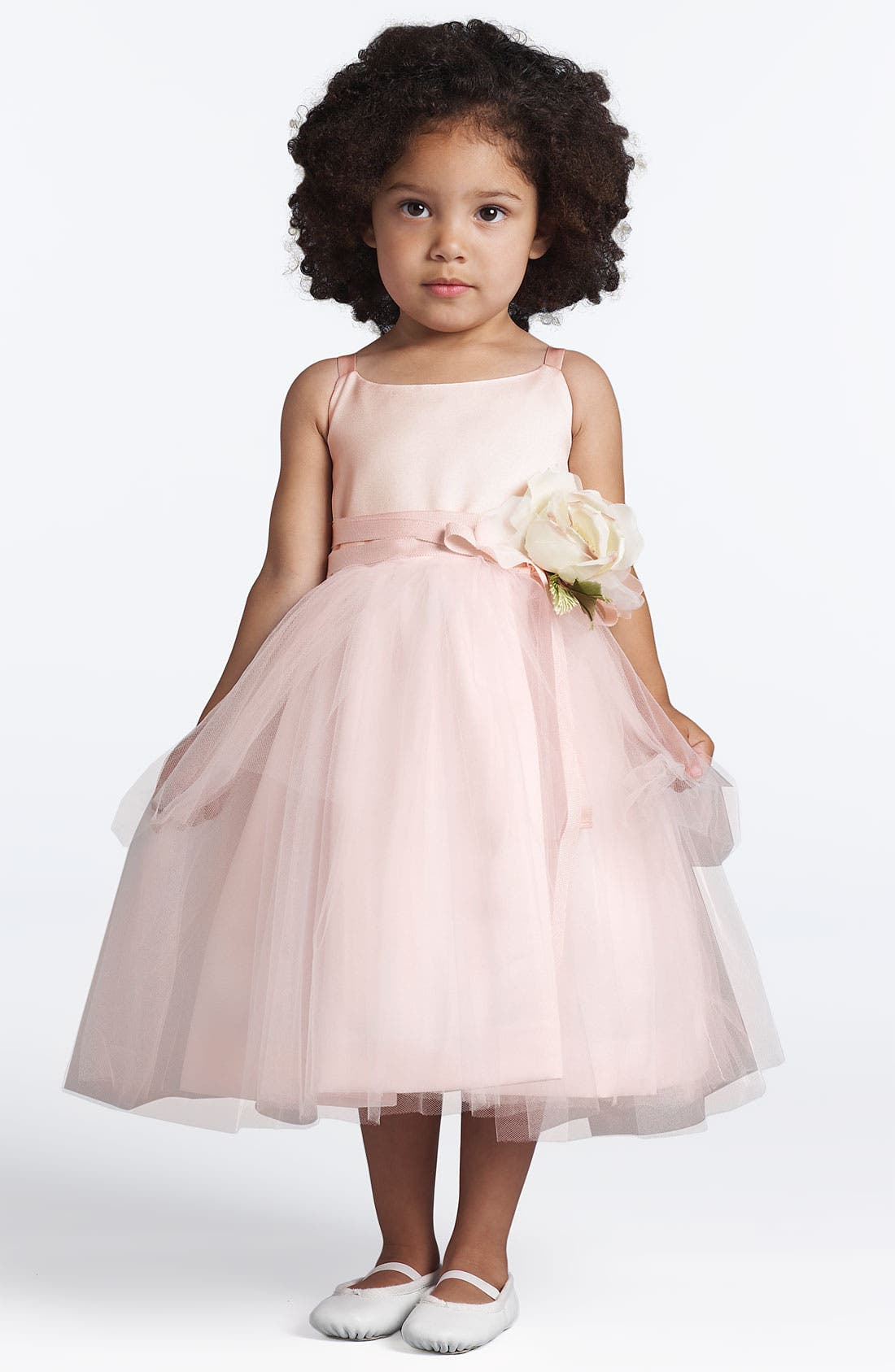Tulle Ballerina Dress,                         Main,                         color, Blush Pink