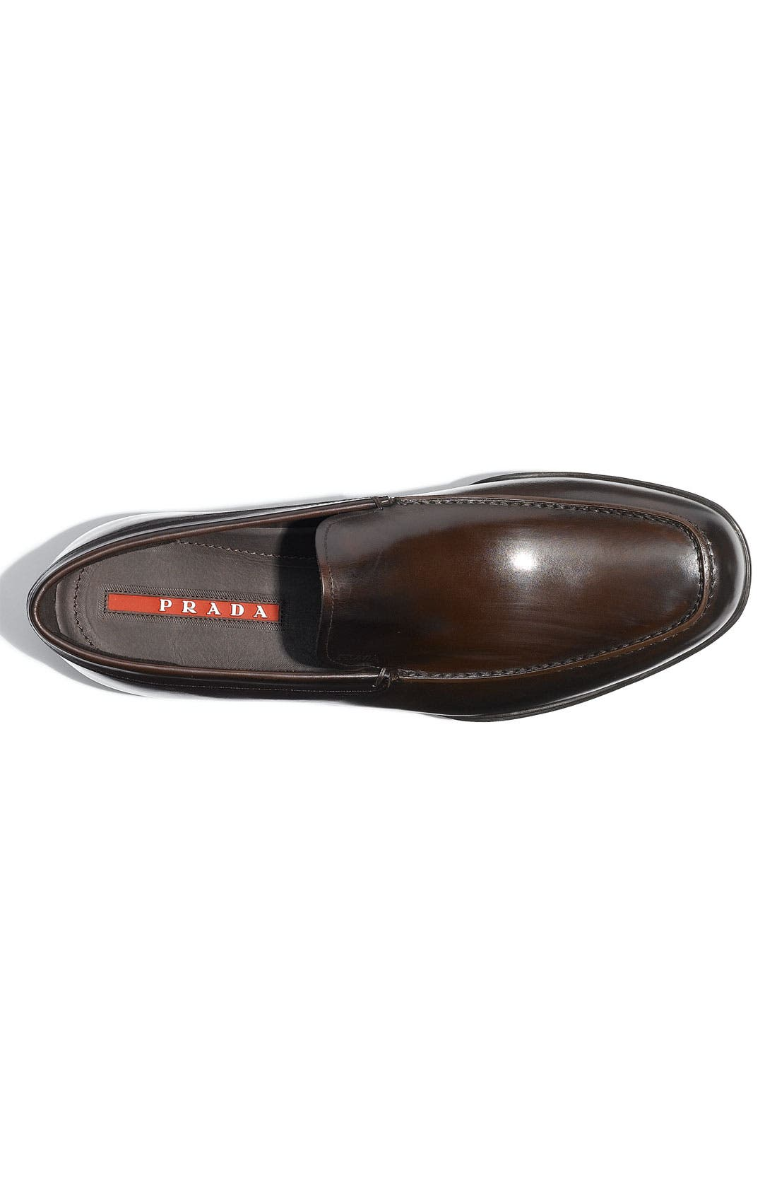 Alternate Image 3  - Prada Leather Slip-On (Men)
