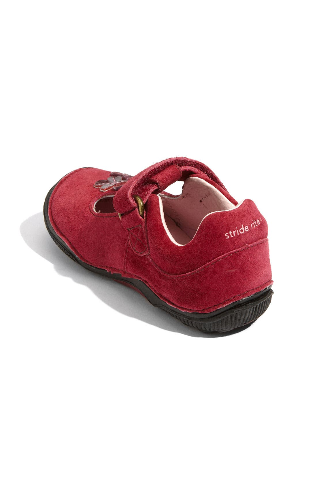 Alternate Image 2  - Stride Rite 'Skyler' T-Strap Mary Jane (Baby, Walker & Toddler)