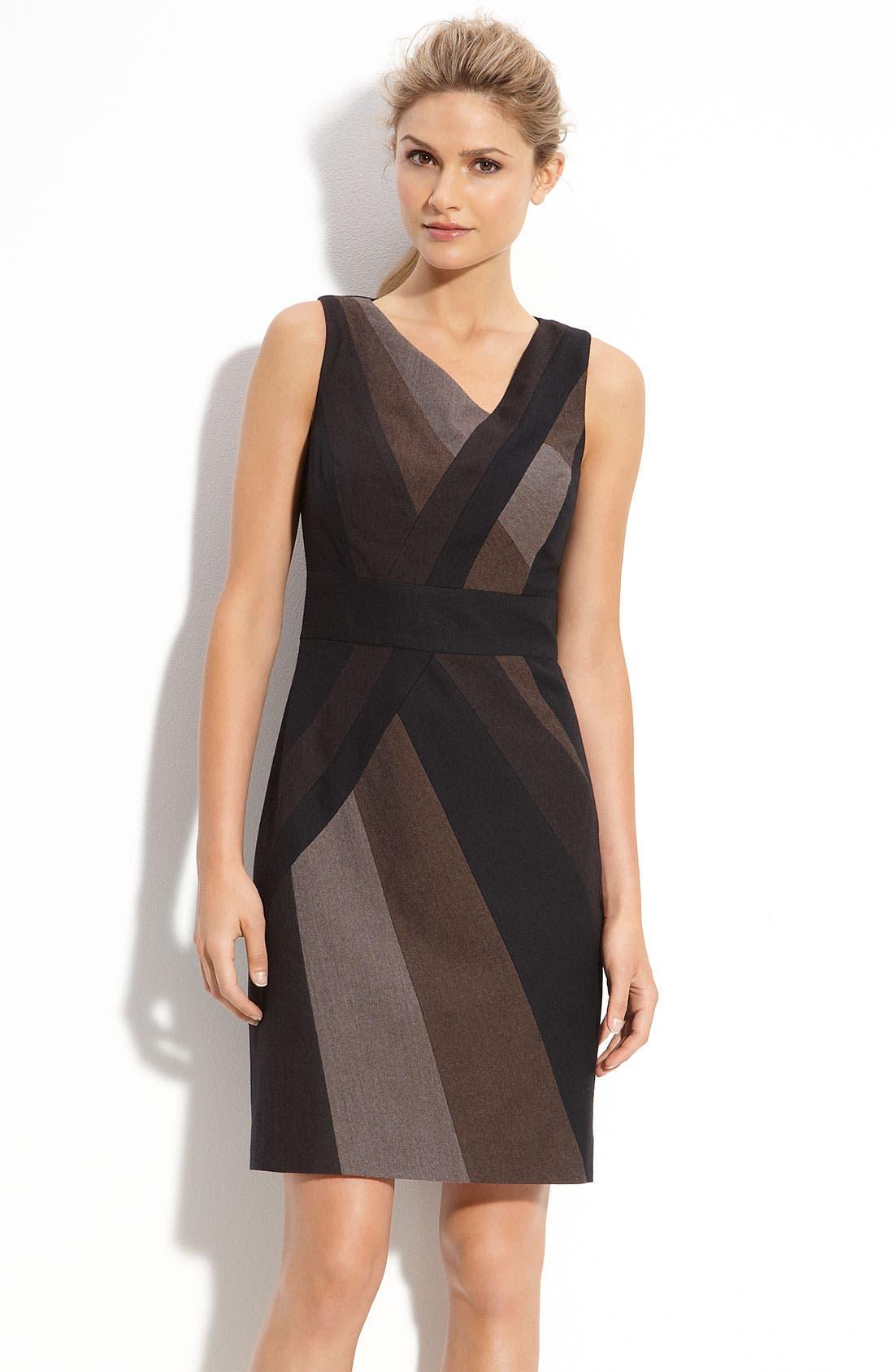 Alternate Image 1 Selected - Classiques Entier® Ombré Panel Dress