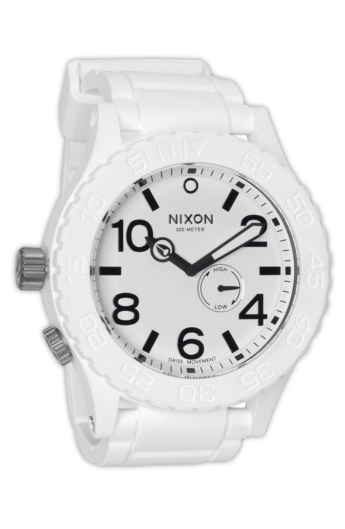 Main Image - Nixon 'The 51-30 Rubber' Watch
