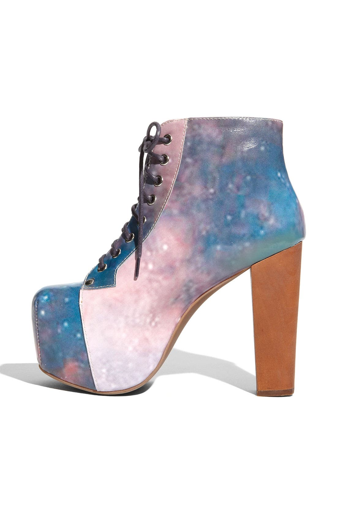 Alternate Image 2  - Jeffrey Campbell 'Lita' Print Leather Bootie (Women)