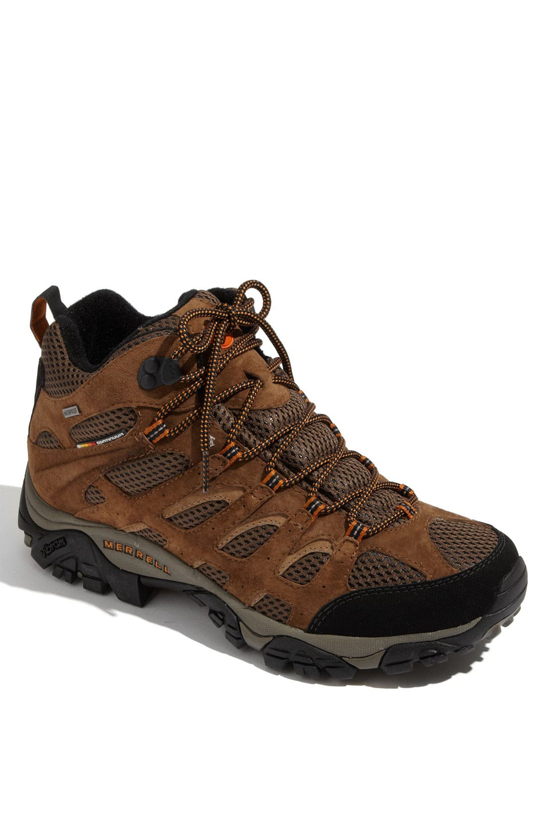 Alternate Image 1 Selected - Merrell 'Moab Mid' Waterproof Hiking Boot (Men)