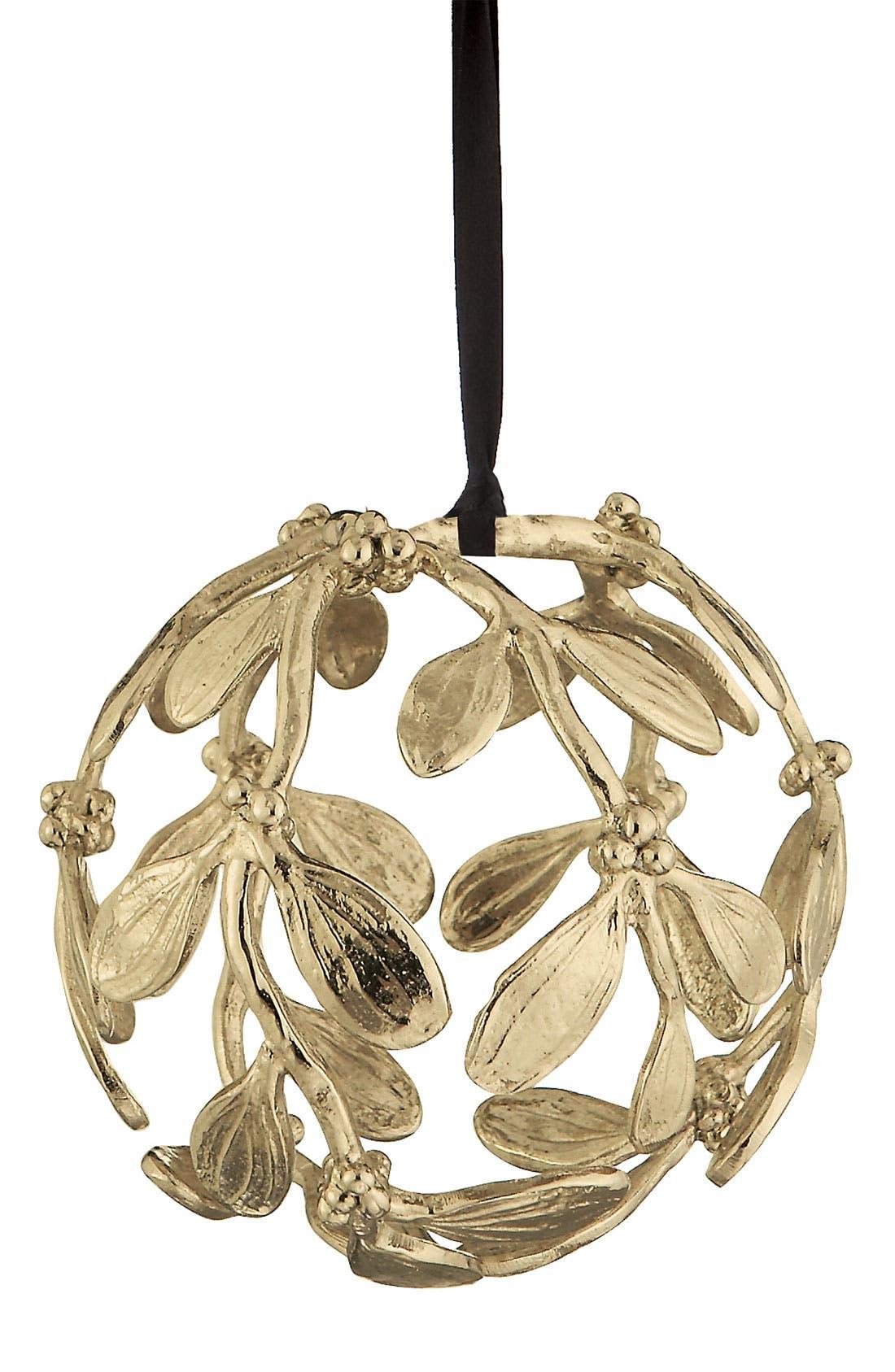 Alternate Image 1 Selected - Michael Aram Mistletoe Globe Ornament