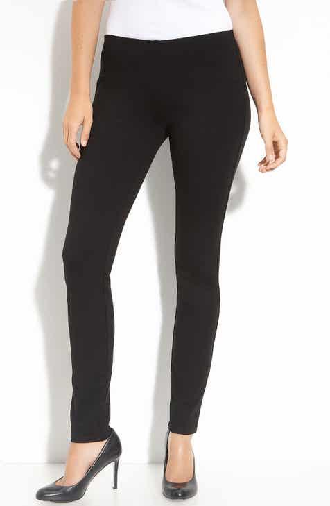 848465dba38 Eileen Fisher Slim Ponte Knit Pants (Regular   Petite)