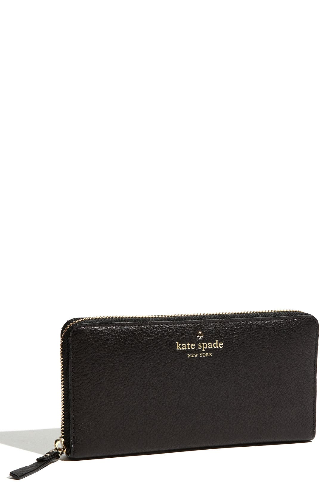 Alternate Image 1 Selected - kate spade new york 'cobble hill - lacey' zip around wallet