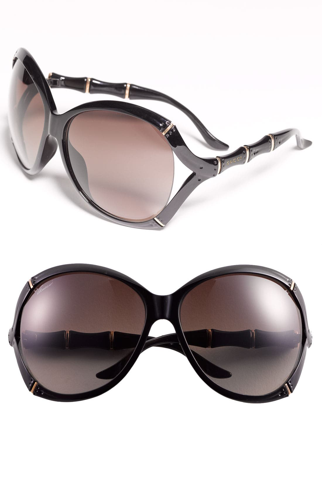 Alternate Image 1 Selected - Gucci 62mm Oversized Sunglasses
