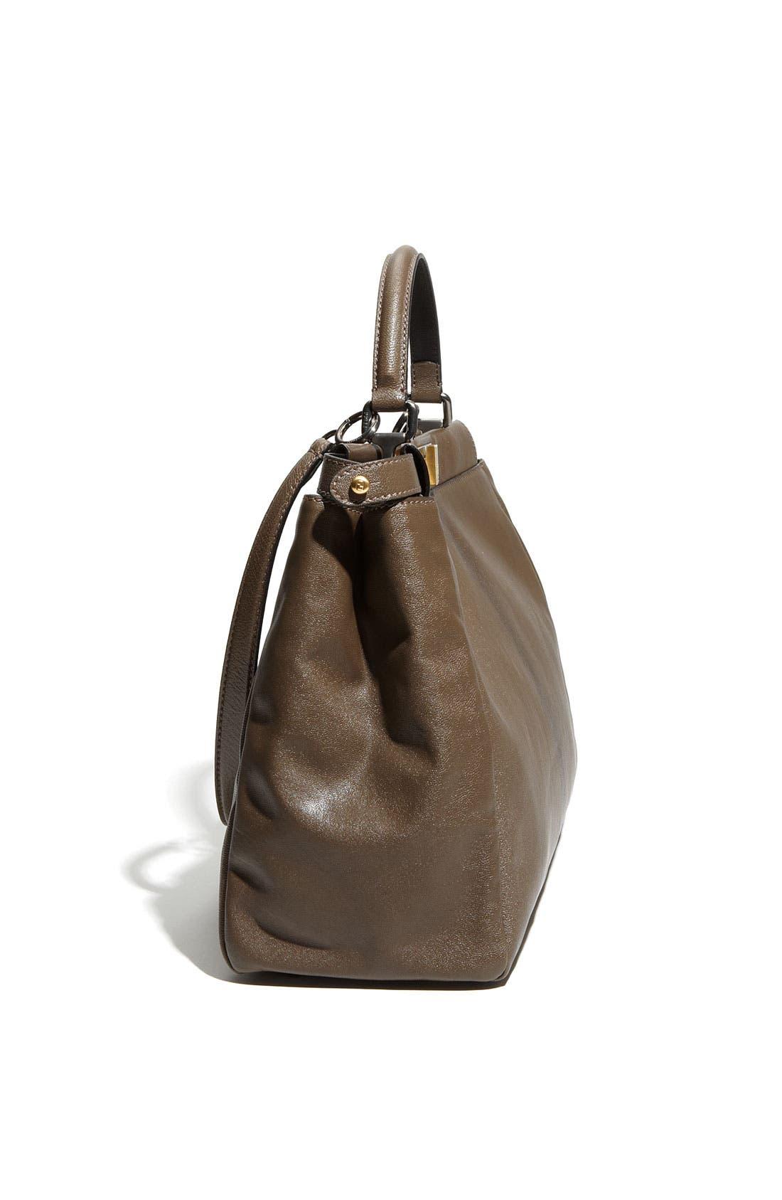 Alternate Image 2  - Fendi 'Peekaboo - Large' Leather Satchel