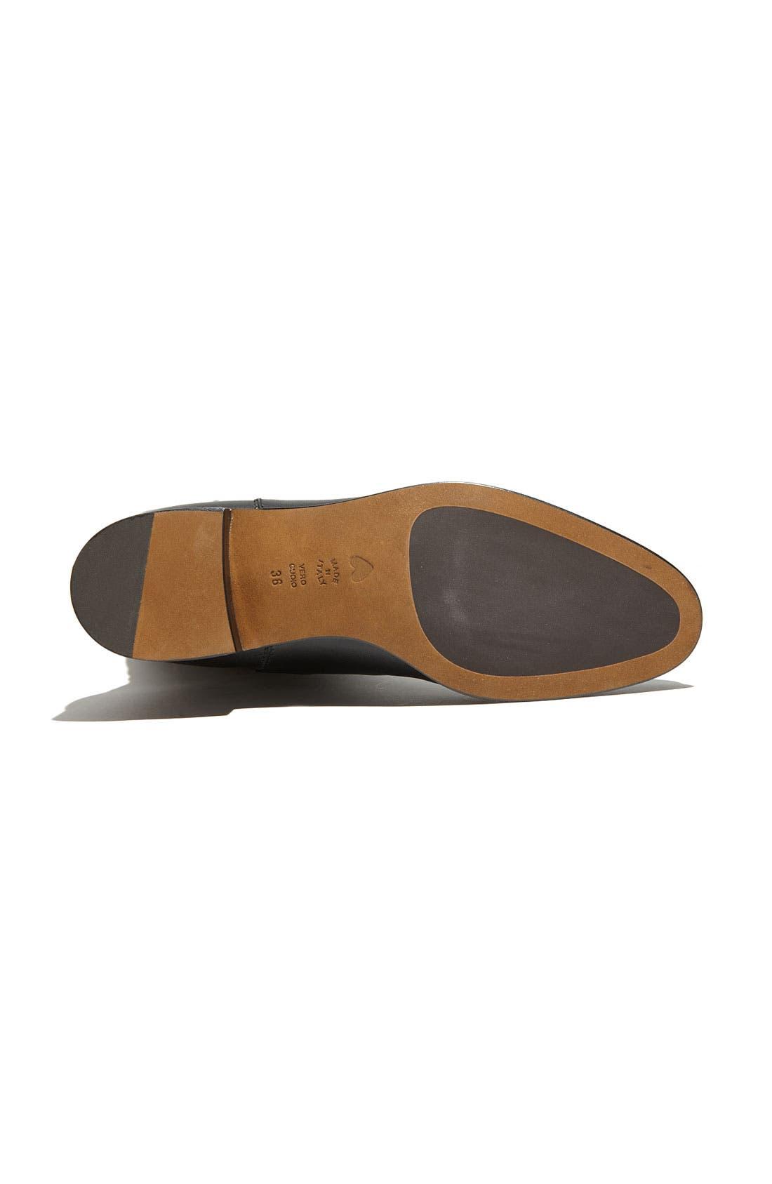 Alternate Image 4  - Moschino Cheap & Chic Ruffled Leather Boot