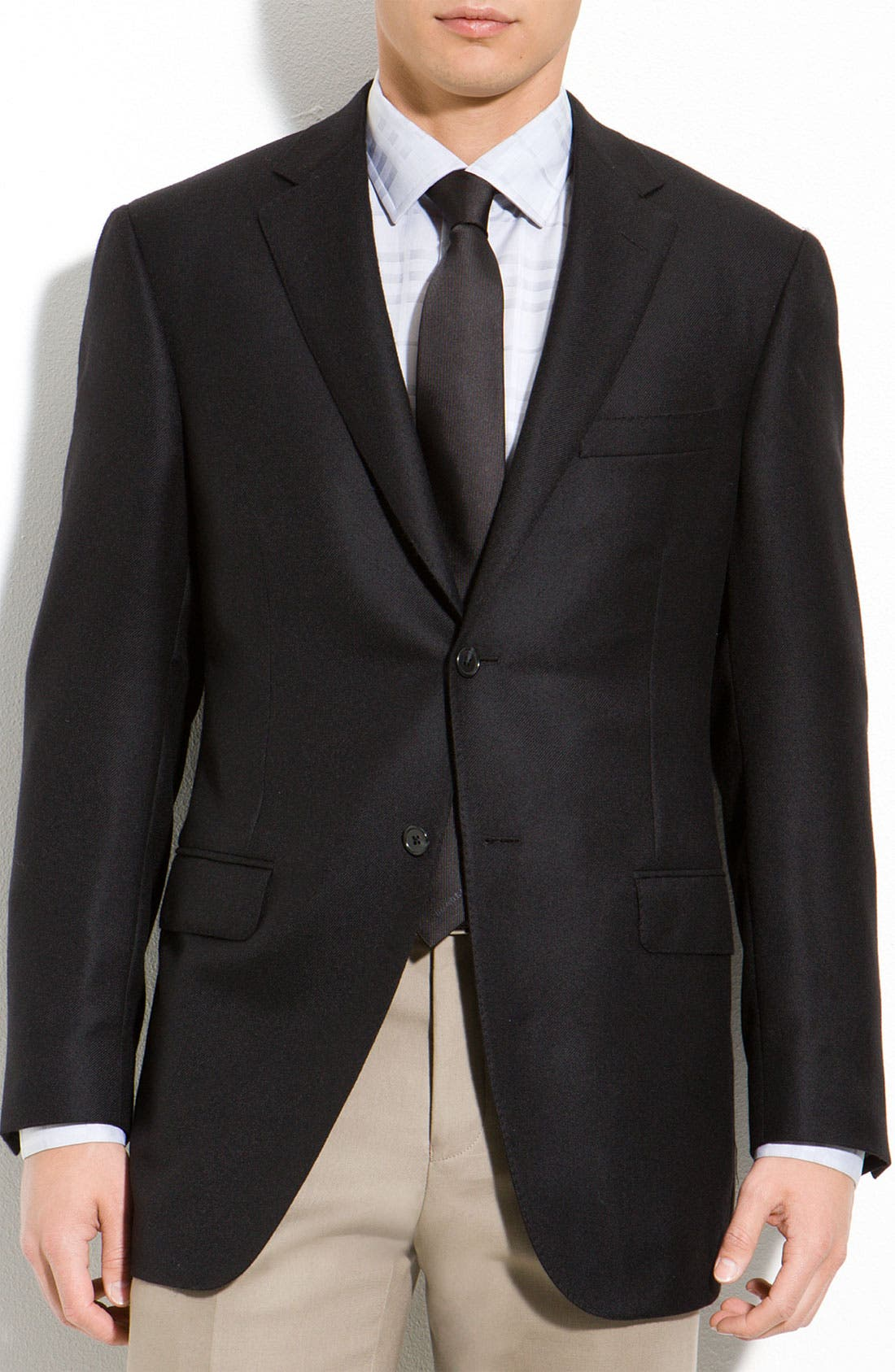 Alternate Image 1 Selected - Samuelsohn Loro Piana Cashmere Blazer