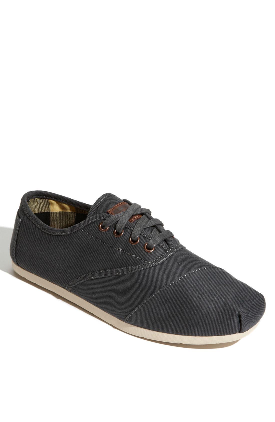 Main Image - TOMS 'Cordones' Waxed Canvas Sneaker (Men)