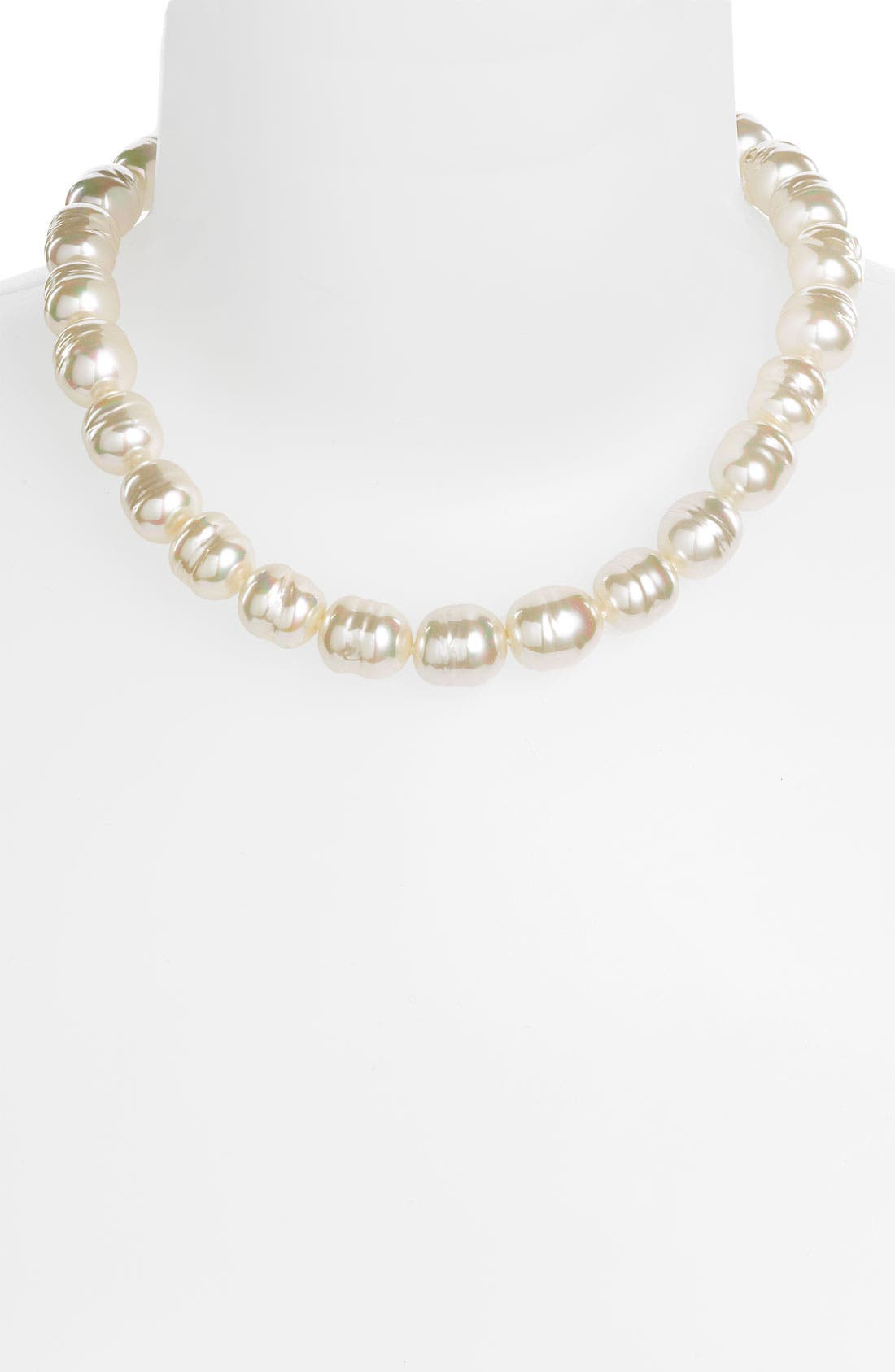 Alternate Image 2  - Majorica 14mm Baroque Pearl Necklace