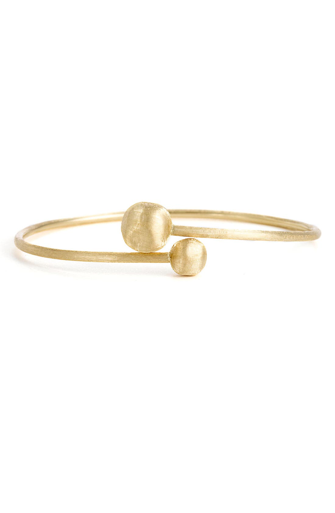 Alternate Image 1 Selected - Marco Bicego 'Africa Gold - Small Hugging' Bangle