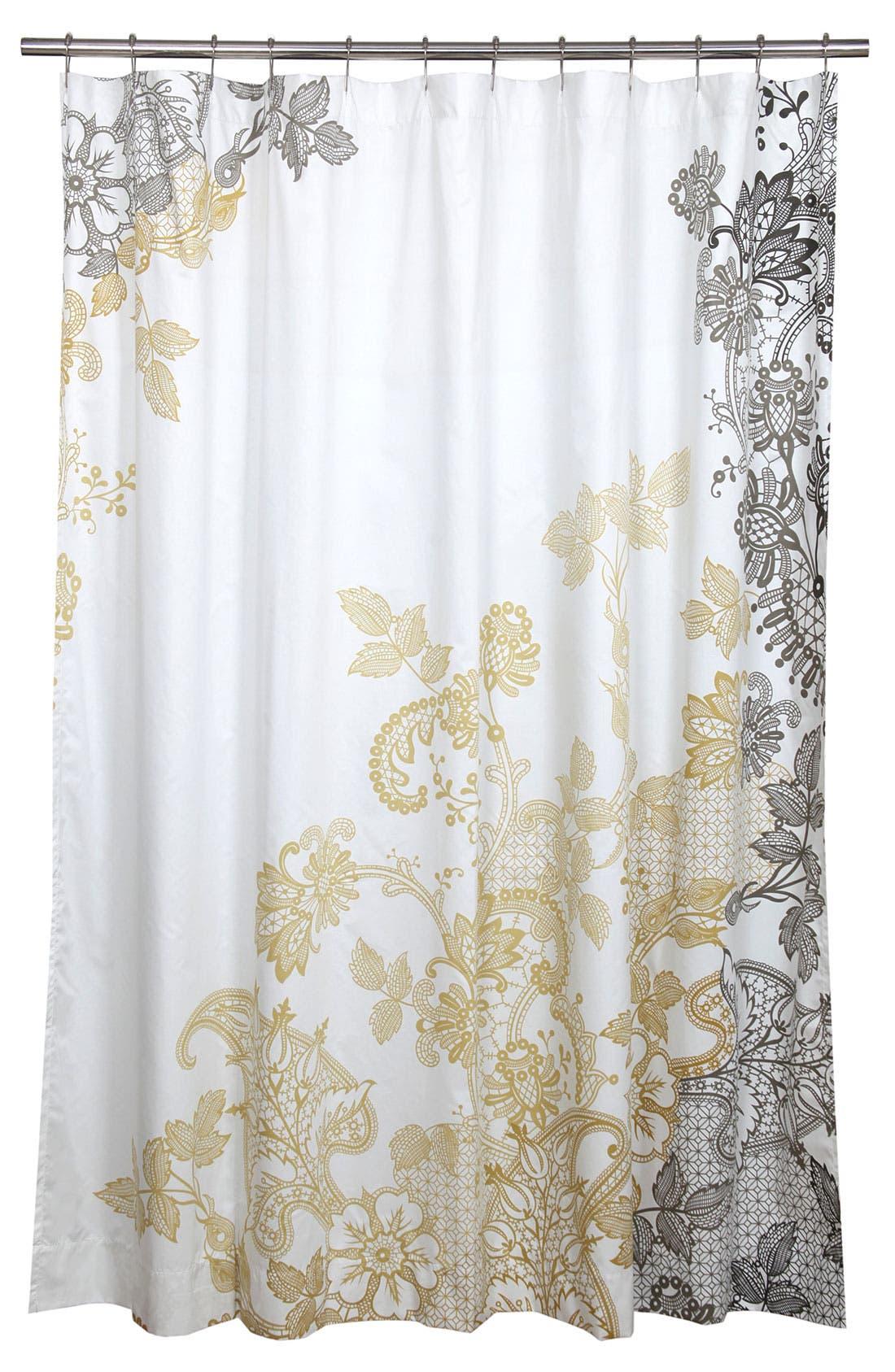 Alternate Image 1 Selected - Blissliving Home 'Evita' Shower Curtain (Online Only)