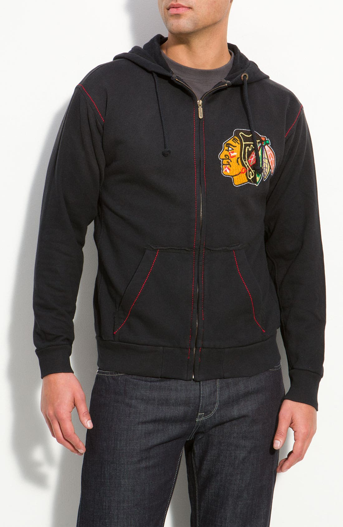 Main Image - Red Jacket 'Black Hawks' Hoodie