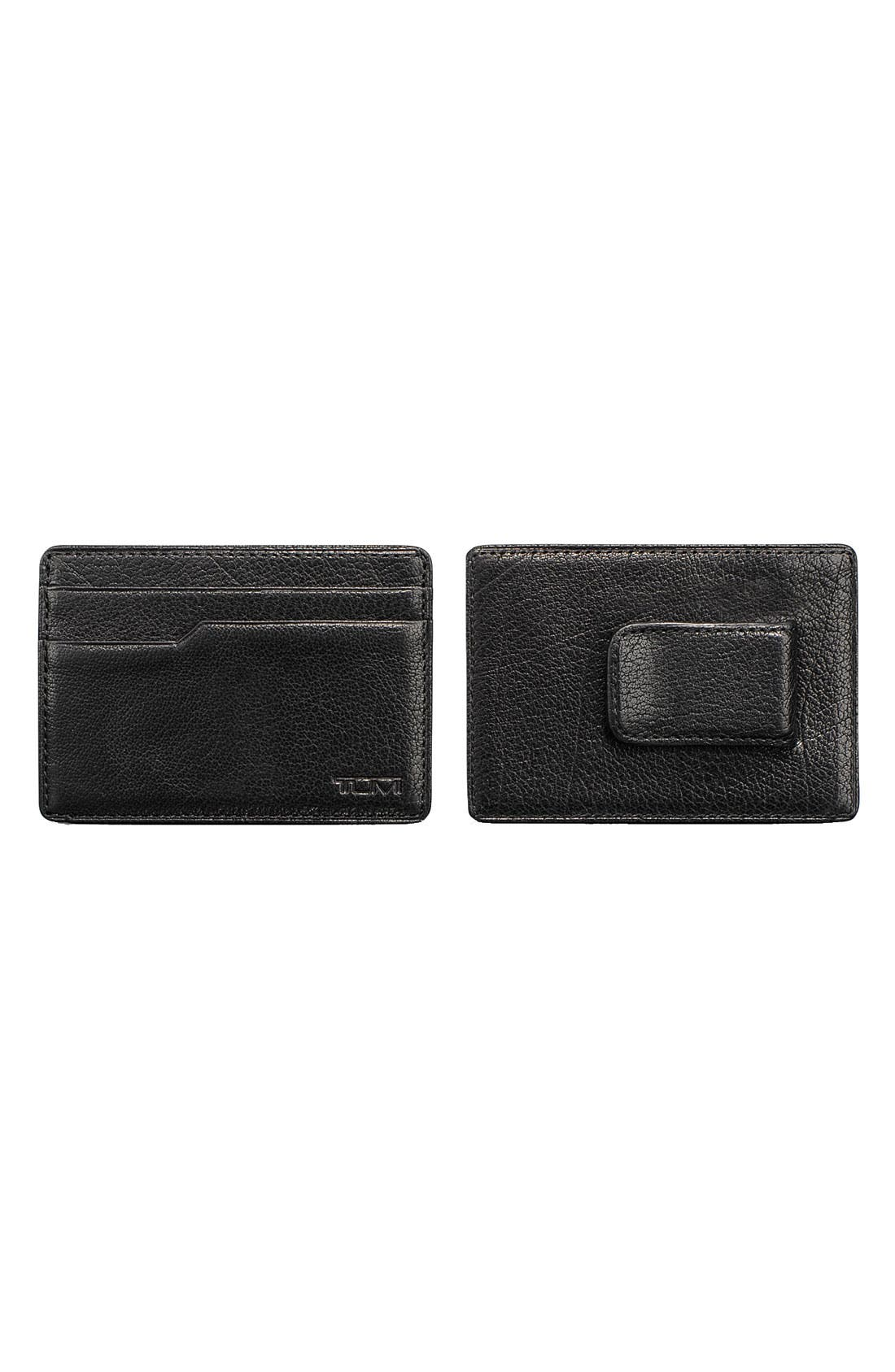 Alternate Image 1 Selected - Tumi 'Sierra' Money Clip Card Case