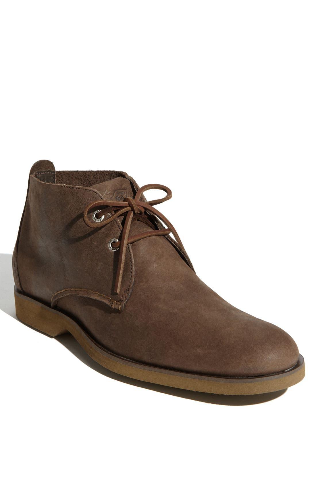 Top-Sider<sup>®</sup> 'Boat Ox' Chukka Boot,                             Main thumbnail 1, color,                             Dark Brown