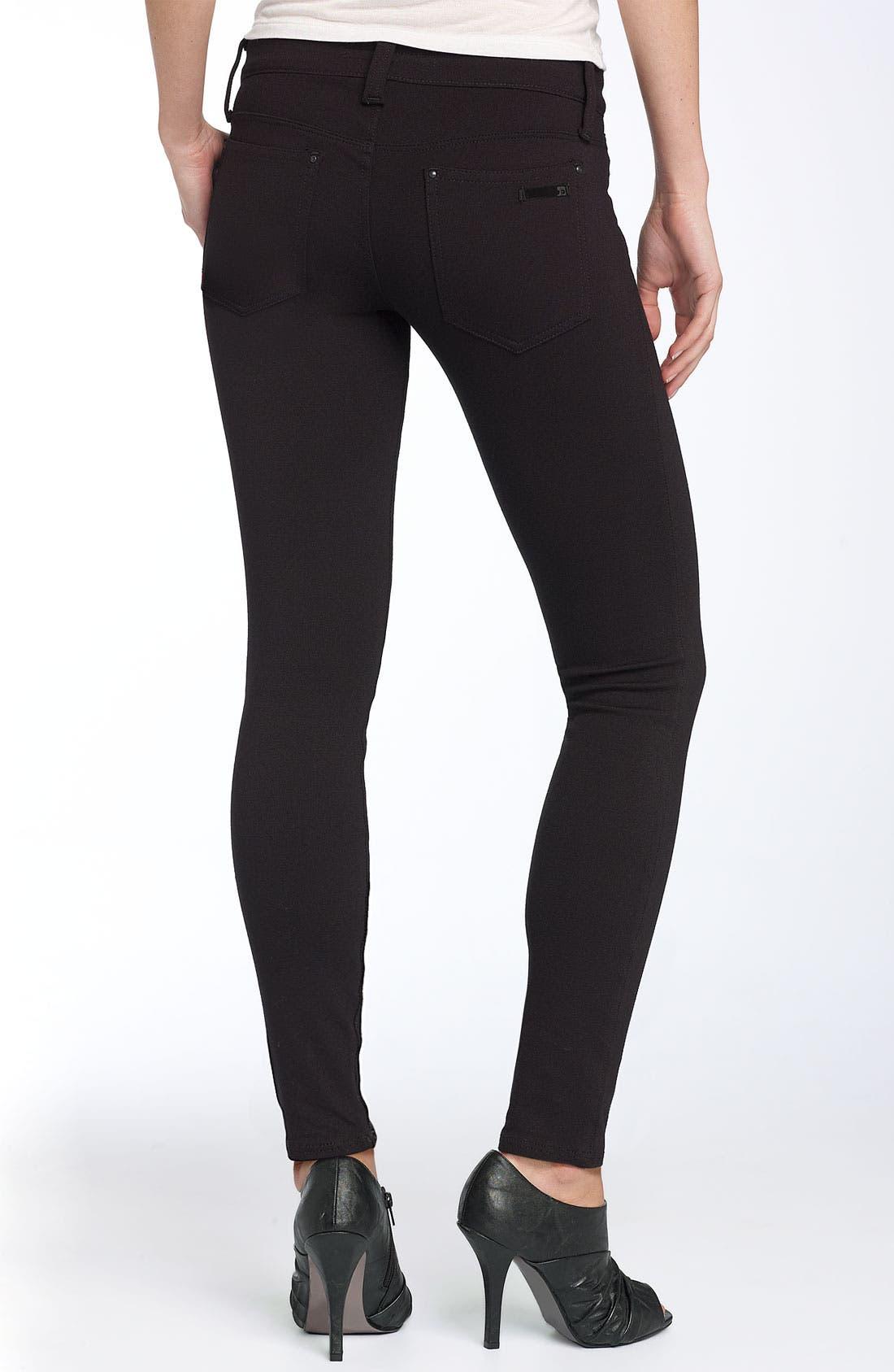 Alternate Image 1 Selected - Joe's Ponte Knit Skinny Leg Pants