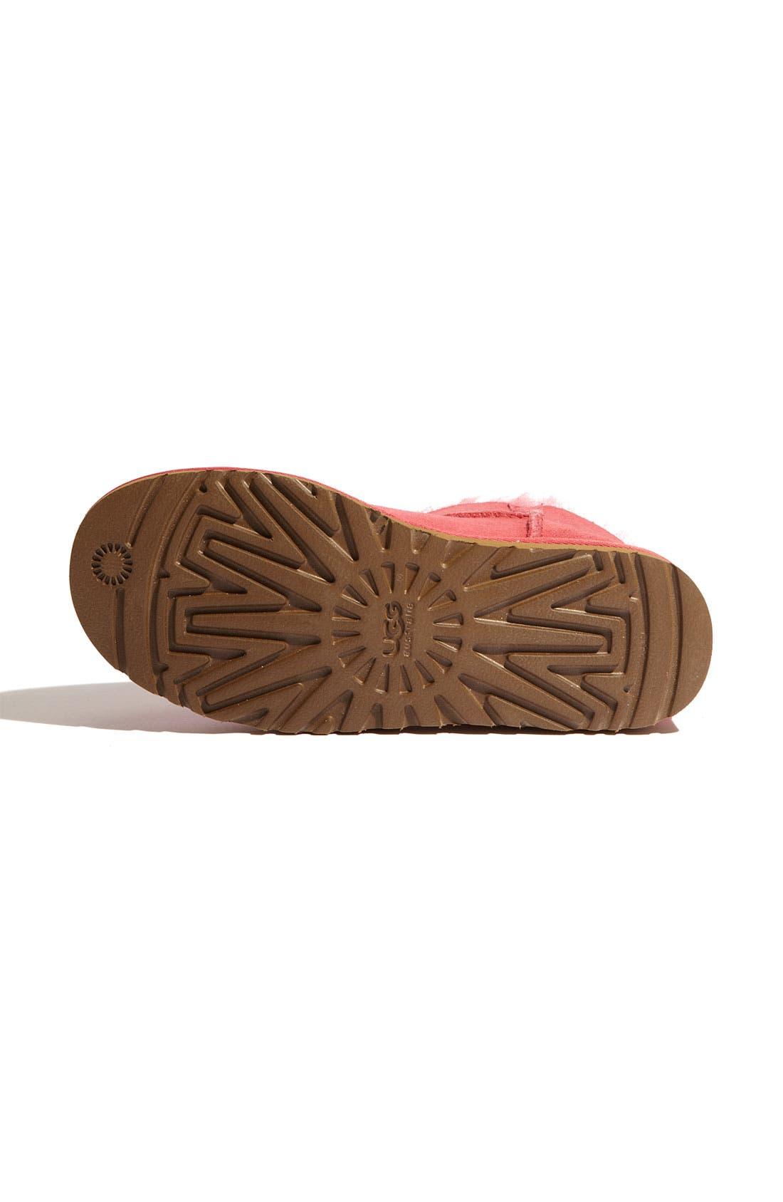 Alternate Image 4  - UGG® 'Mini Bailey Button' Boot (Women)