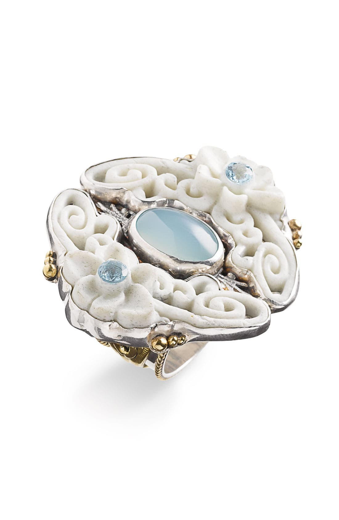 Alternate Image 1 Selected - Mars and Valentine 'Roman Sky - Trevi' Statement Ring