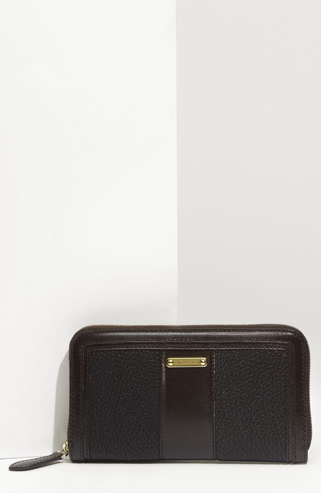 Main Image - Burberry Zip Around Wallet