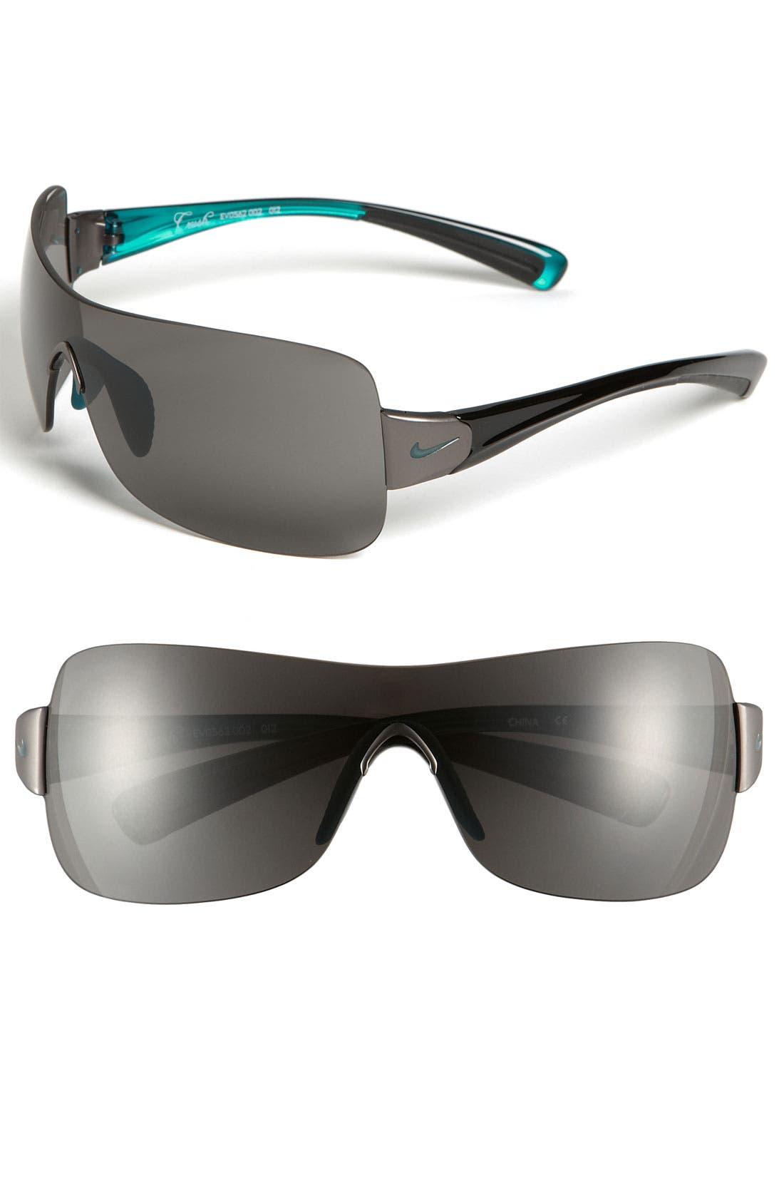 Main Image - Nike 'Crush' 61mm Rimless Shield Sunglasses