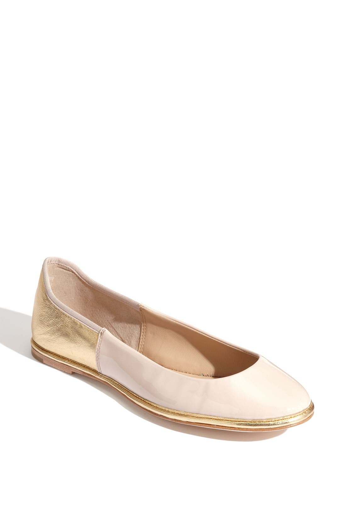 Alternate Image 1 Selected - Diane von Furstenberg 'Botswana' Two Tone Flat