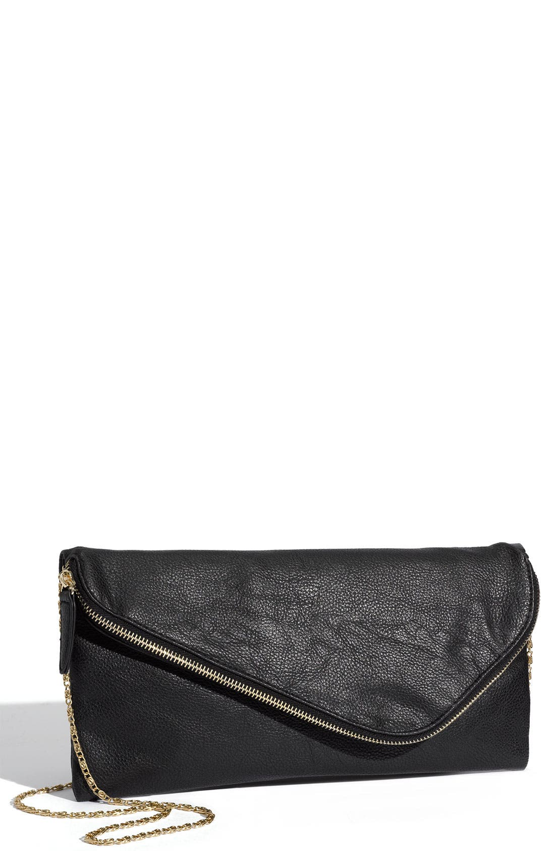 Main Image - Top Choice Zip Envelope Clutch