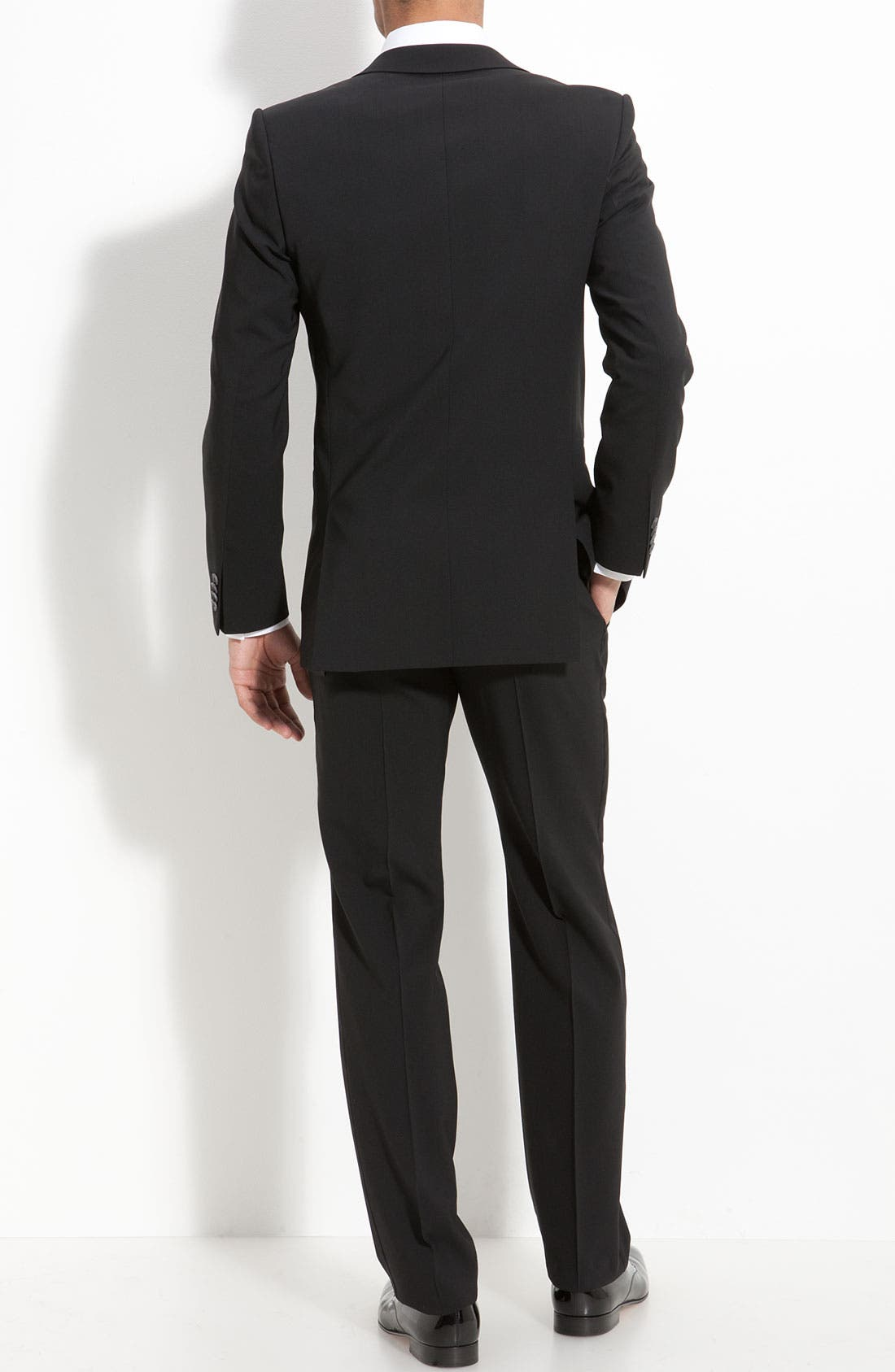 Alternate Image 2  - HUGO 'Aikin Hollo' Trim Fit Wool Tuxedo